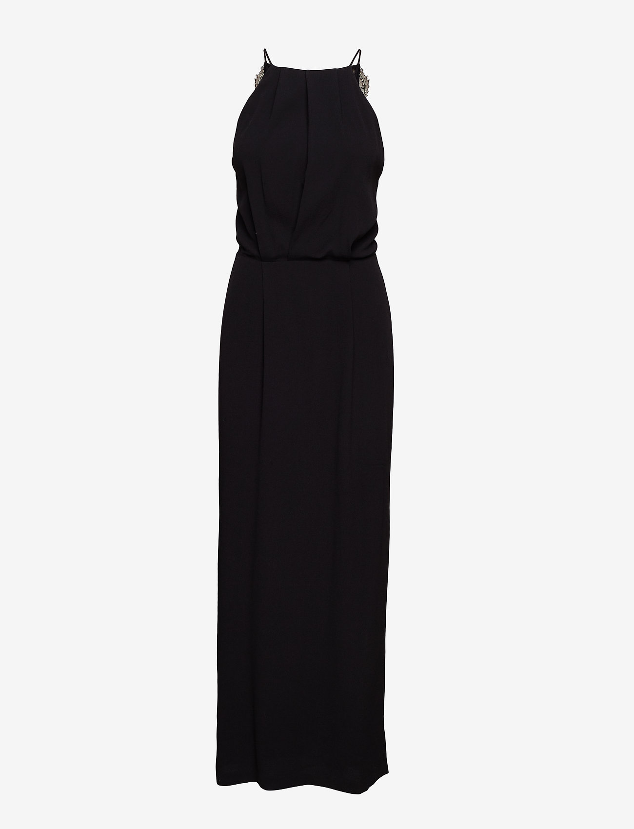 Samsøe Samsøe - Willow dress long 5687 - maxi sukienki - black - 0