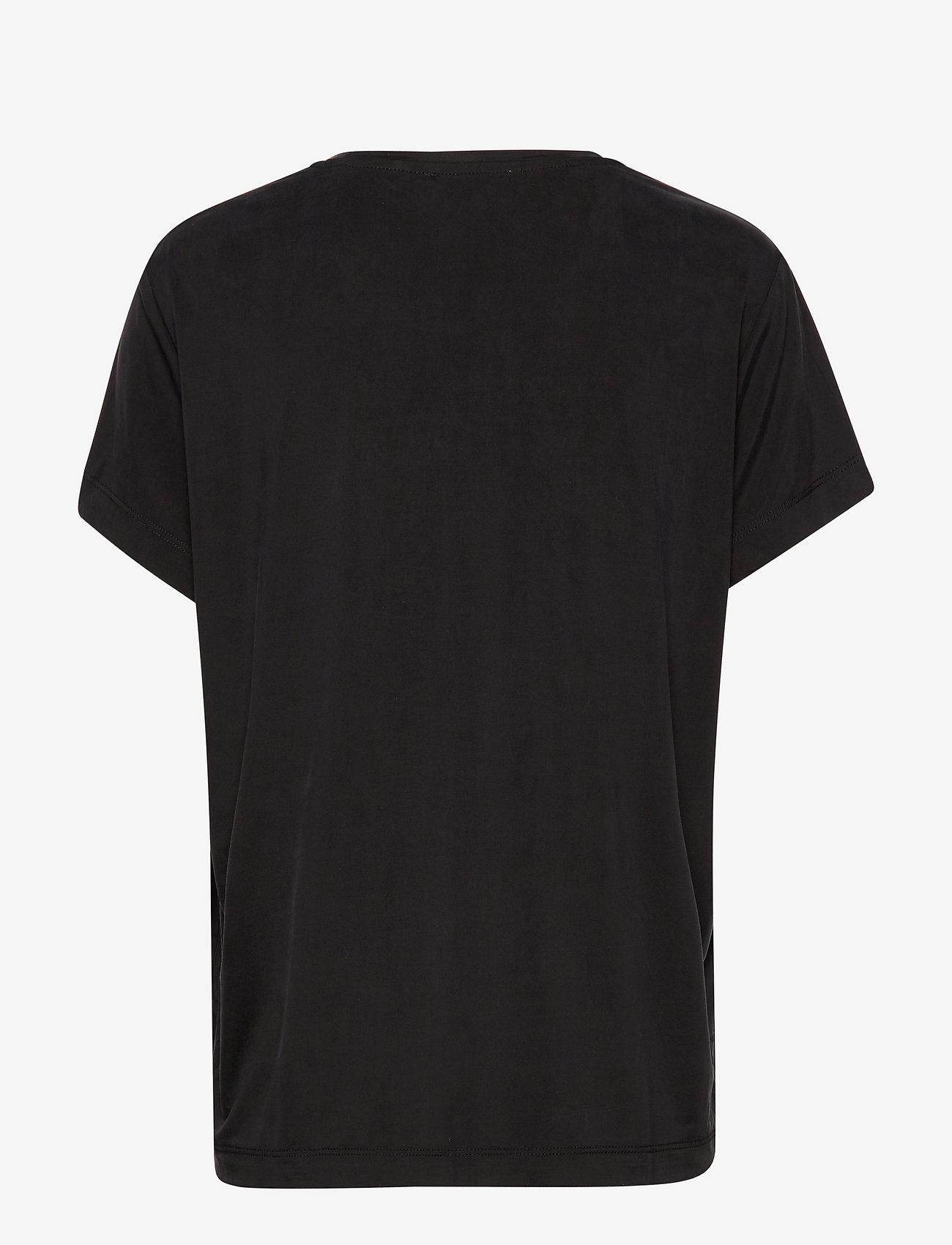 Samsøe Samsøe - Siff tee 6202 - t-shirty basic - black - 1