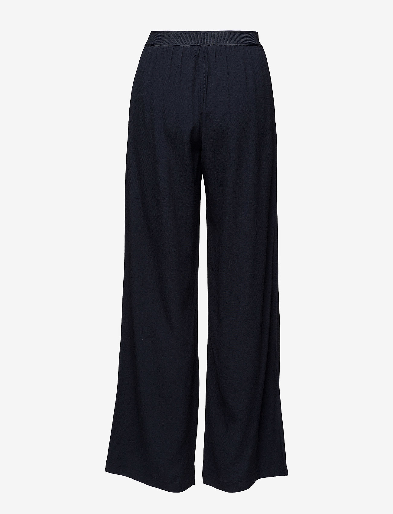 Samsøe Samsøe - Nessie pants 6515 - bukser med brede ben - dark sapphire - 1