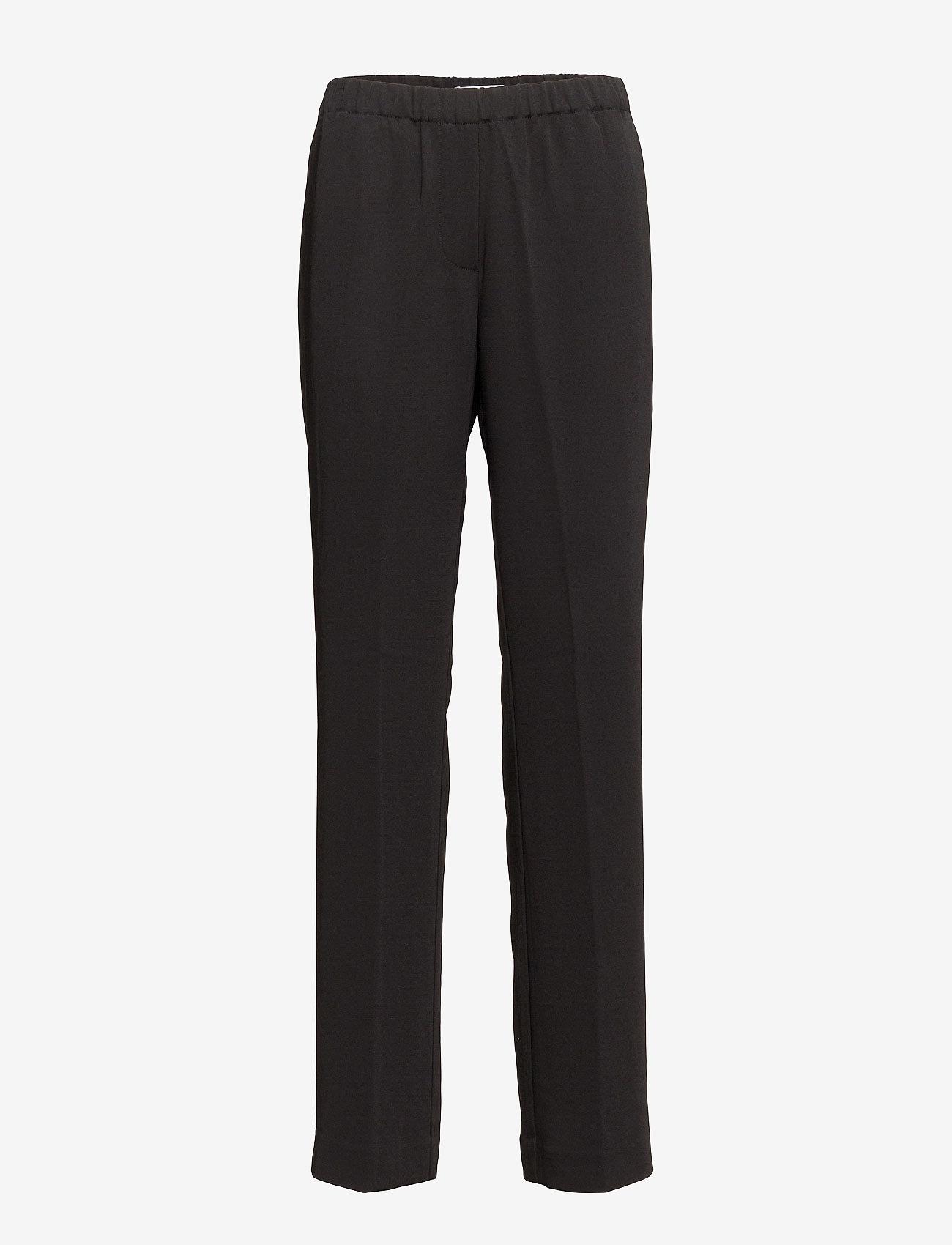 Samsøe Samsøe - Hoys straight pants 7331 - bukser med lige ben - black - 0