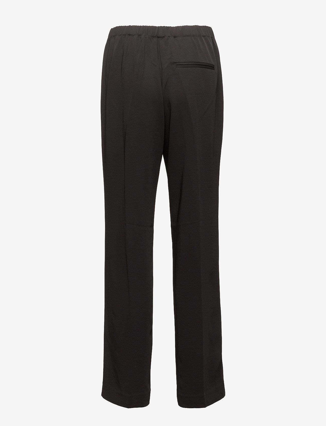 Samsøe Samsøe - Hoys straight pants 7331 - bukser med lige ben - black - 1