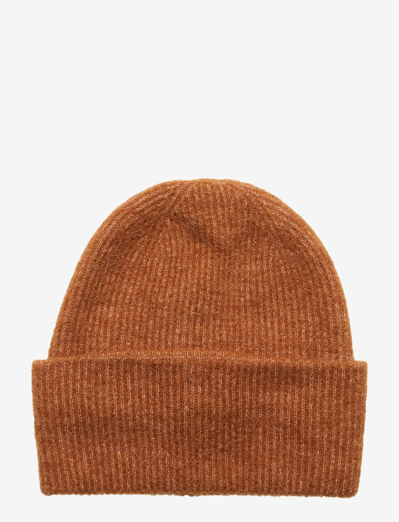 Samsøe Samsøe Nor hat 7355 - Czapki i kapelusze ARGAN OIL MEL. - Akcesoria