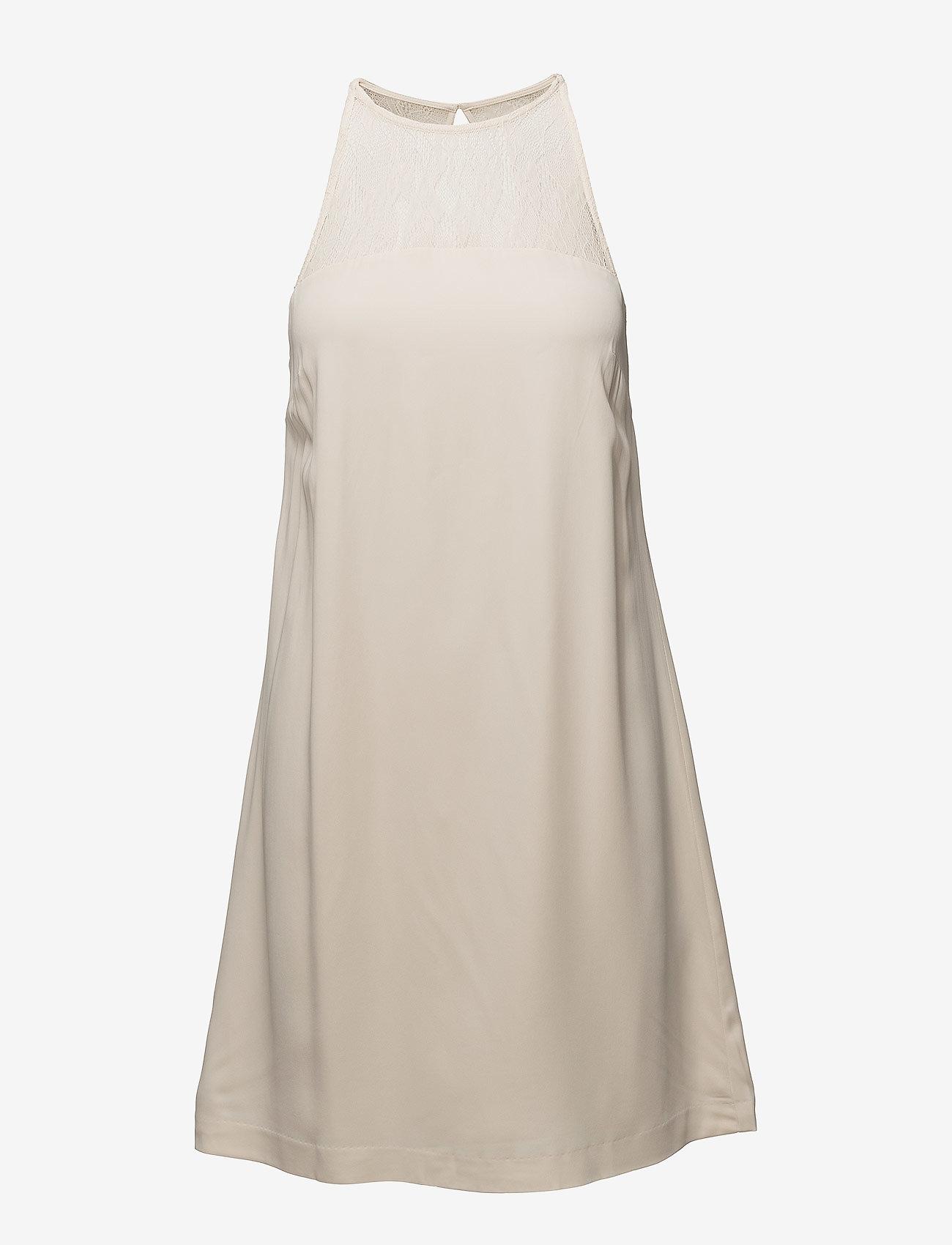 Samsøe Samsøe - Bina s dress 6460 - kanten jurken - whitecap gray - 0