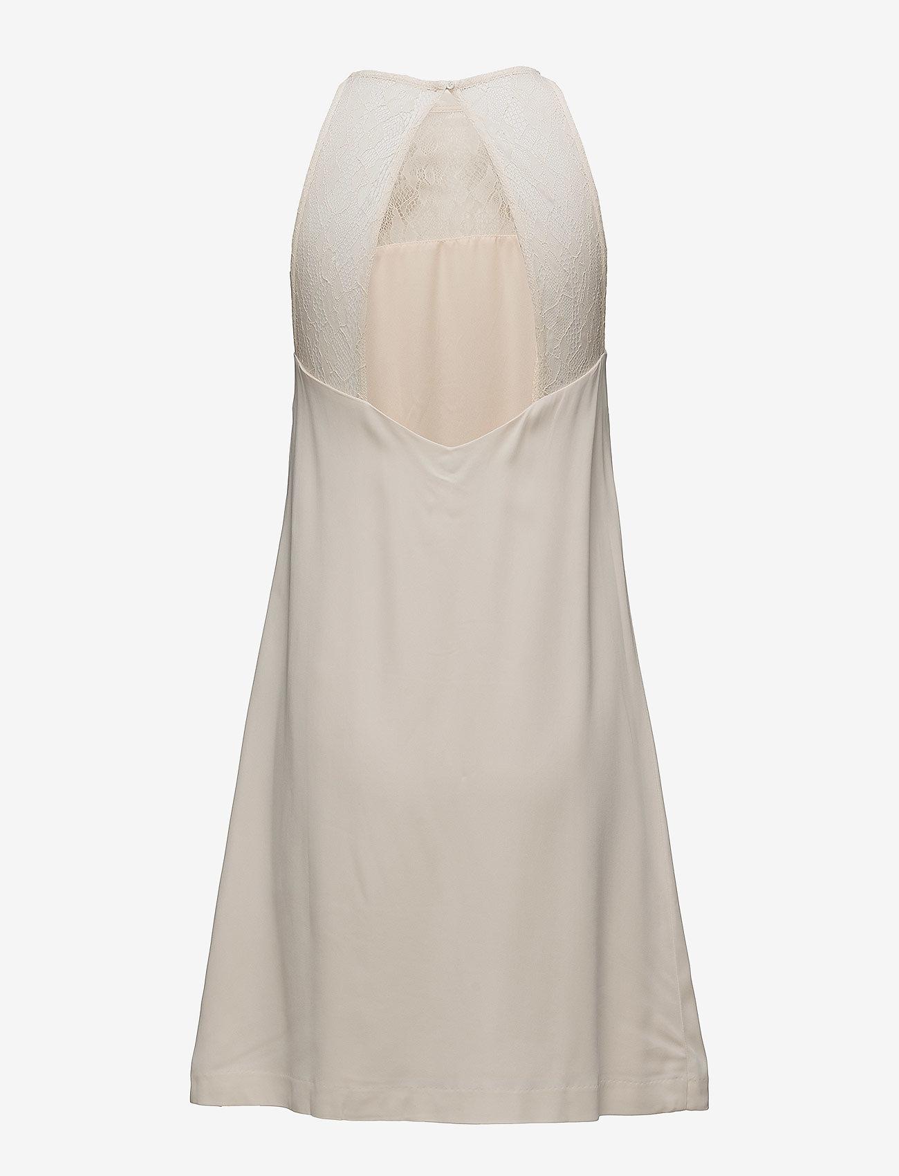 Samsøe Samsøe - Bina s dress 6460 - kanten jurken - whitecap gray - 1