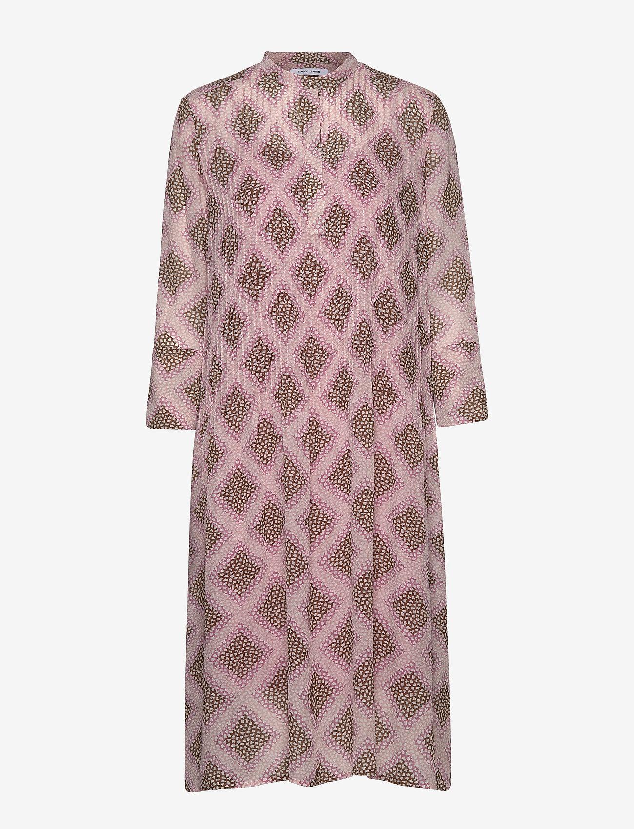 Samsøe Samsøe - Elm shirt dress aop 9695 - midi kjoler - foulard - 0