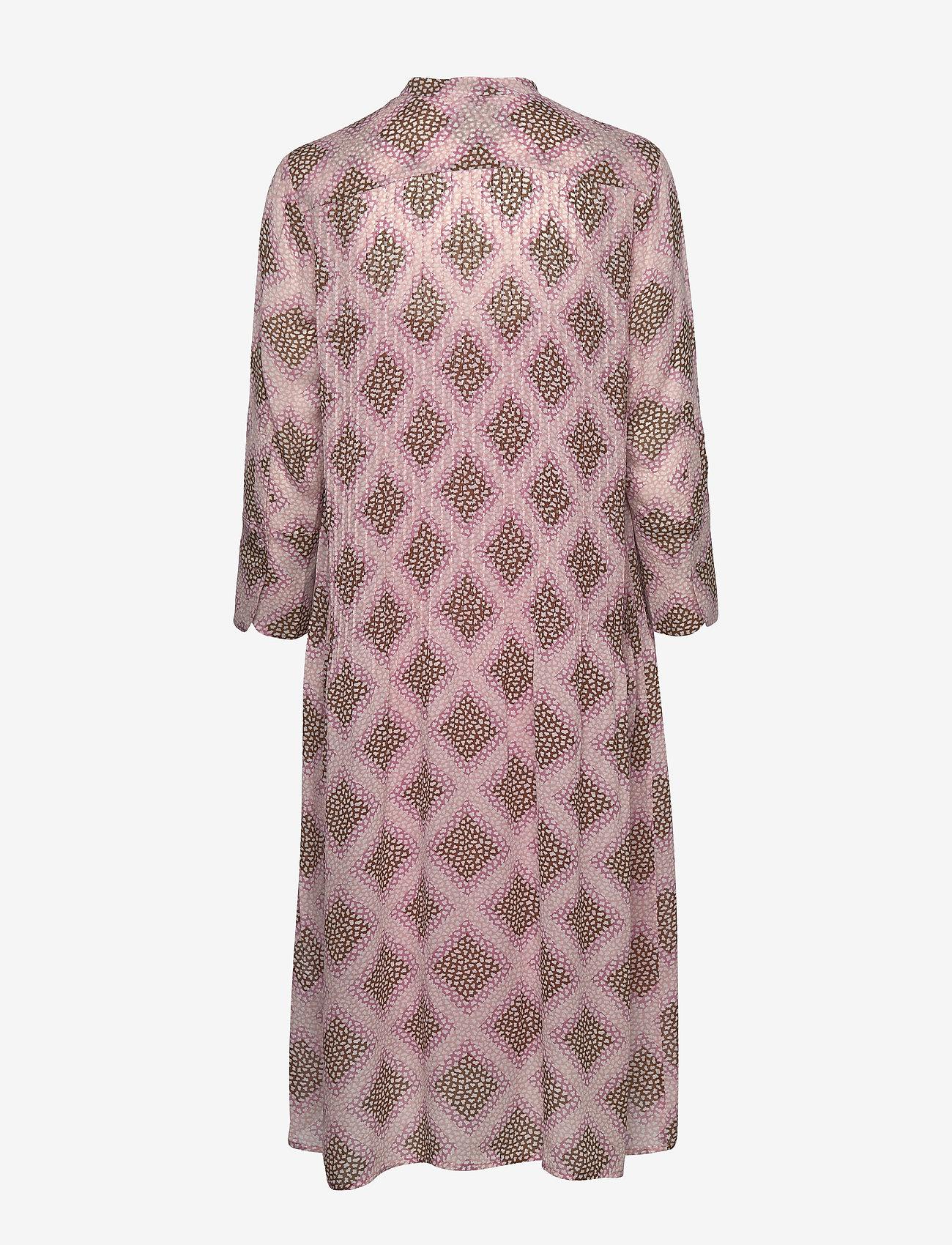 Samsøe Samsøe - Elm shirt dress aop 9695 - midi kjoler - foulard - 1