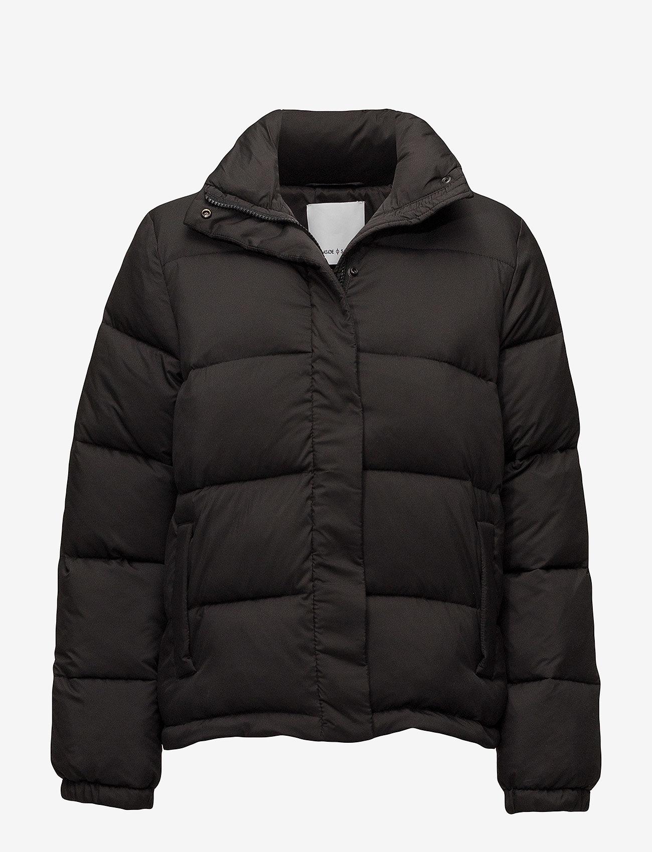 Samsøe Samsøe - Vinda jacket 10143 - gefütterte & daunenjacken - black - 0
