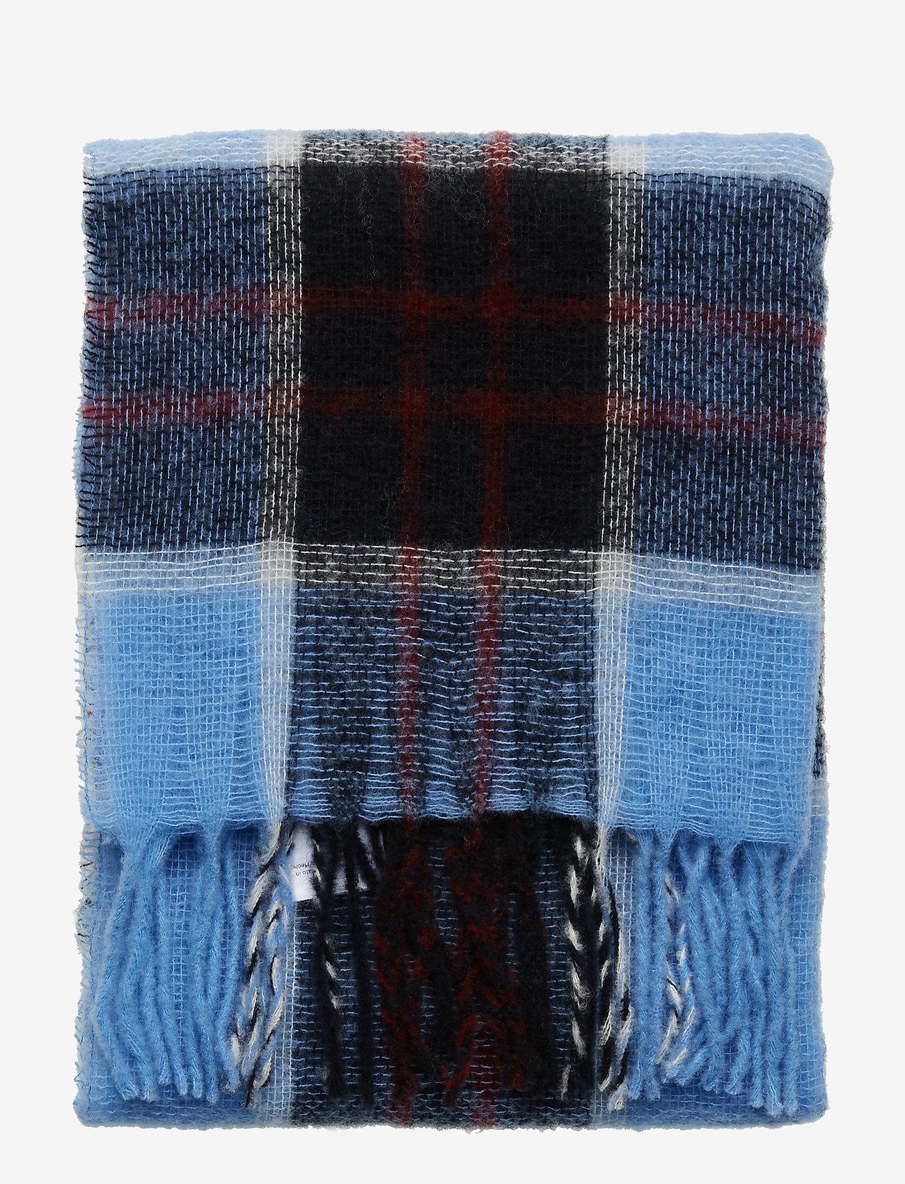Samsøe Samsøe Minetta light scarf 10812 - Szaliki i chusty BLUE BONNET CH. - Akcesoria