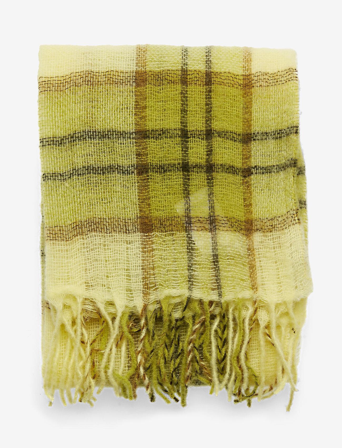 Samsøe Samsøe Minetta light scarf 10812 - Szaliki i chusty YELLOW PEAR CH. - Akcesoria