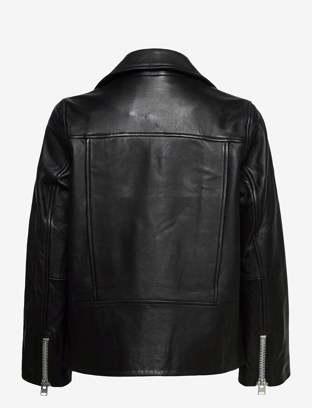 Samsøe Samsøe - Welter jacket 10786 - skinnjackor - black - 1