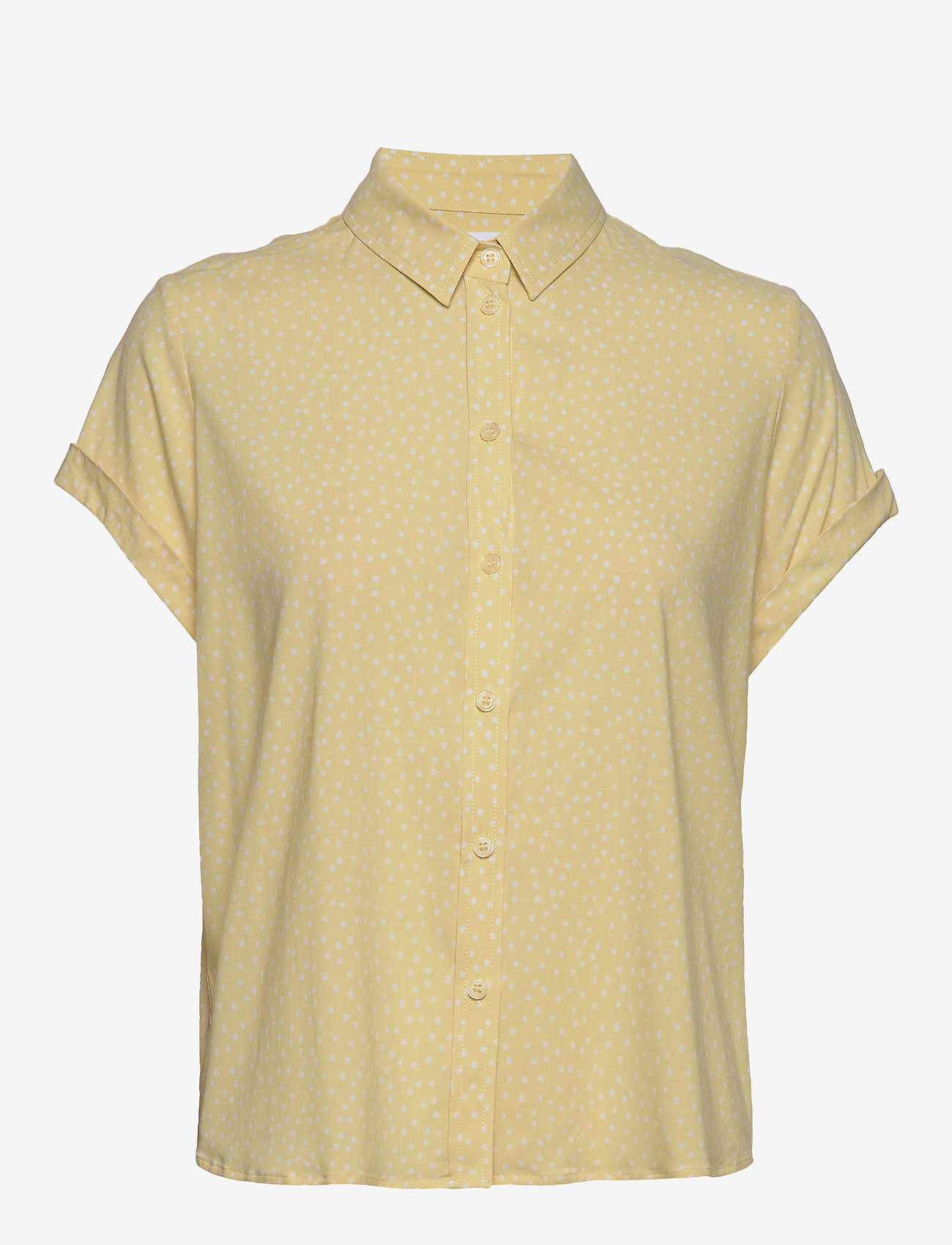 Samsøe Samsøe - Majan ss shirt aop 9942 - overhemden met korte mouwen - summer drops - 0