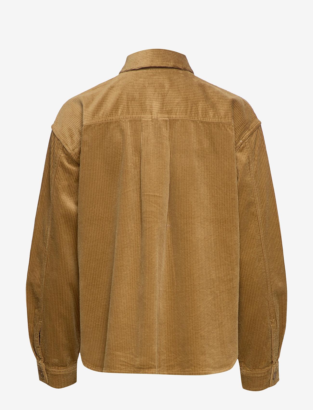 Overkommelige Kvinder Tøj.Kelly Overshirt 11153 Khaki 480 Samsøe Samsøe Bzhwng