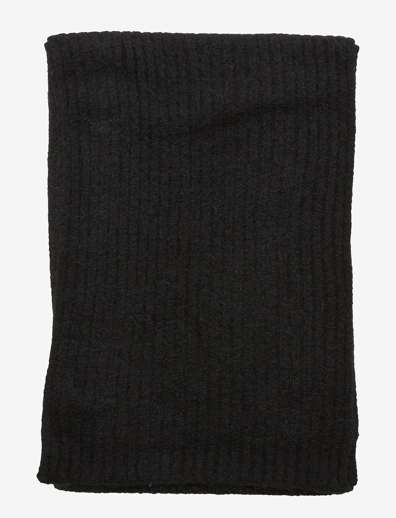 Samsøe Samsøe Nori scarf slim 7355 - Szaliki i chusty BLACK - Akcesoria