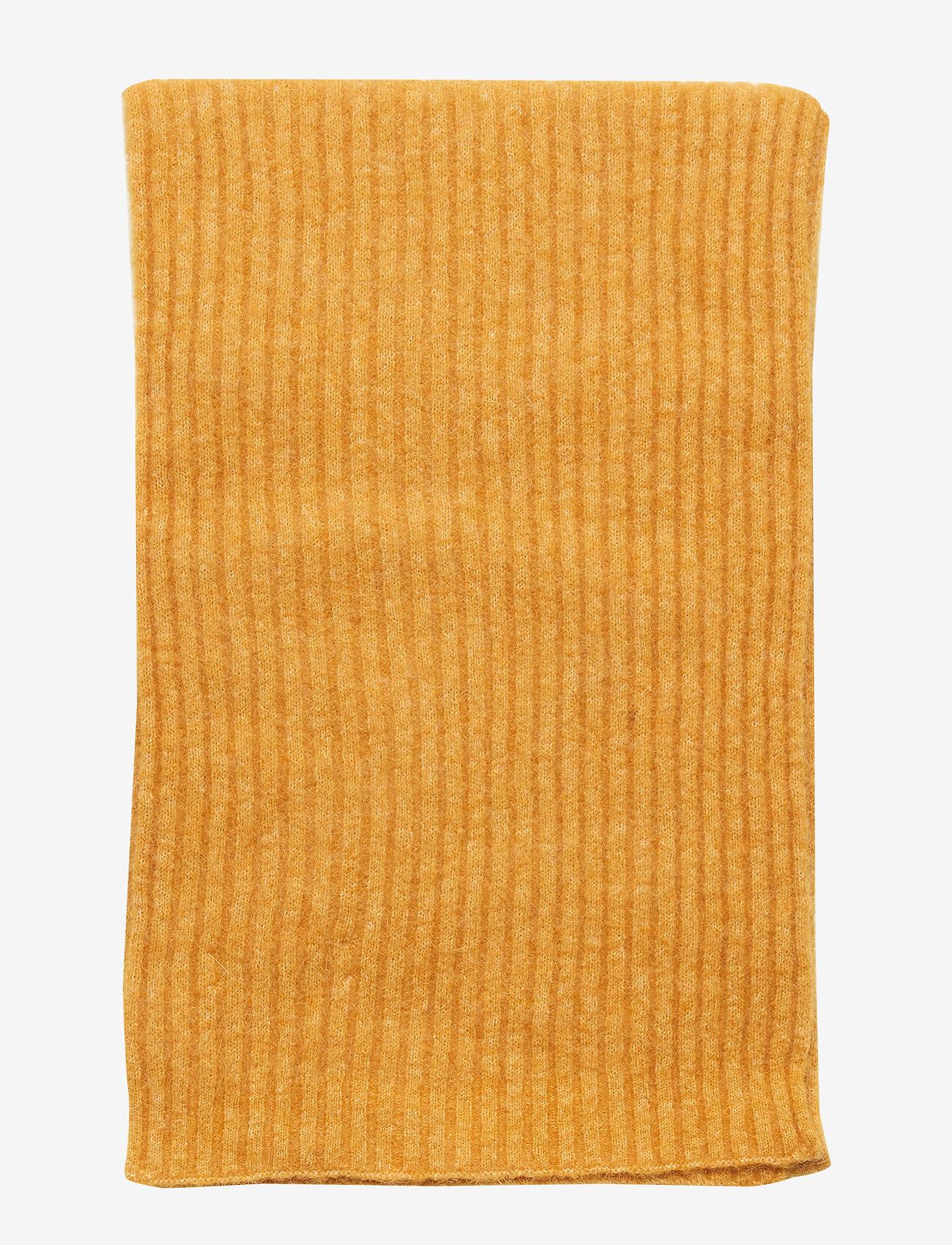 Samsøe Samsøe Nori scarf slim 7355 - Szaliki i chusty INCA GOLD MEL. - Akcesoria