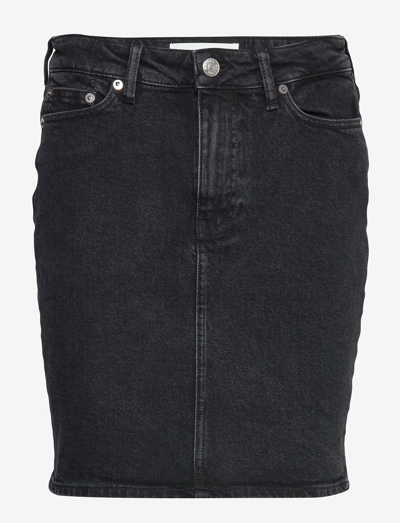 Samsøe Samsøe - Pamela skirt 11356 - jeansowe spódnice - black rock - 0