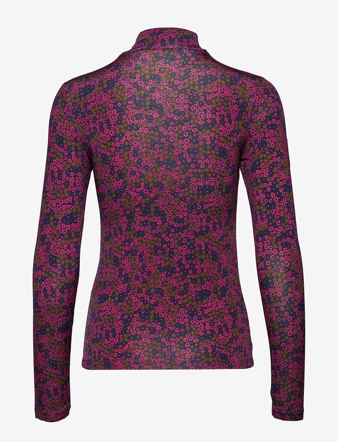 Samsøe Samsøe Elsi t-n t-shirt ls aop 10908 - T-shirty i zopy MOONLIGHT FLOWER - Kobiety Odzież.
