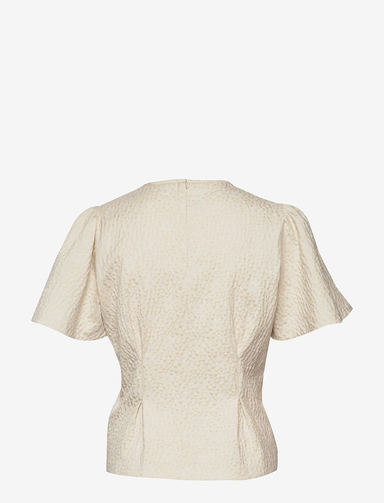 Samsøe Samsøe - Jo ss blouse 11402 - blouses à manches courtes - white flower - 1