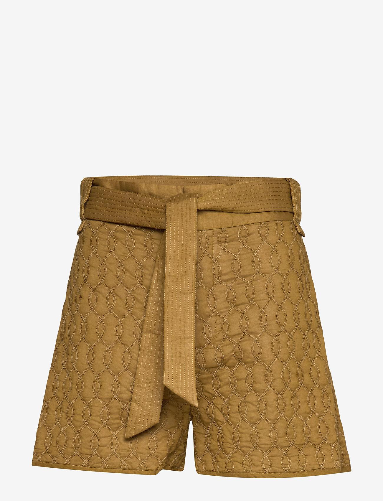 Samsøe Samsøe - Joseline shorts 11453 - casual shortsit - green khaki - 0