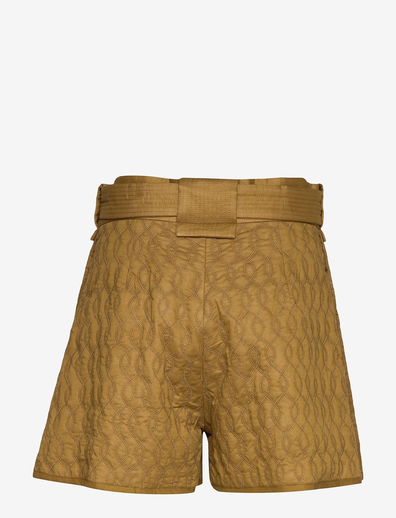 Samsøe Samsøe - Joseline shorts 11453 - casual shortsit - green khaki - 1