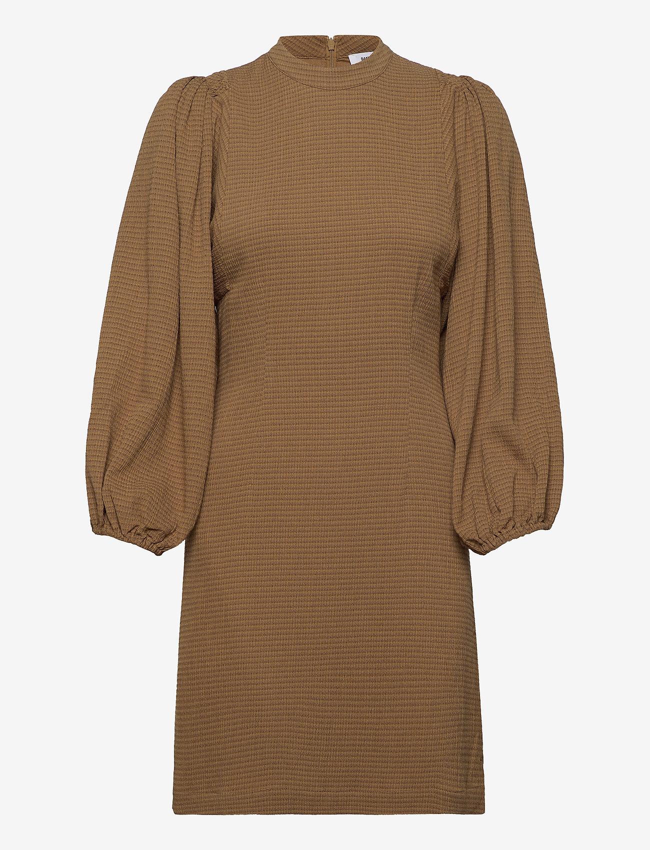 Samsøe Samsøe - Harrietta short dress 11238 - hverdagskjoler - dijon ch - 0