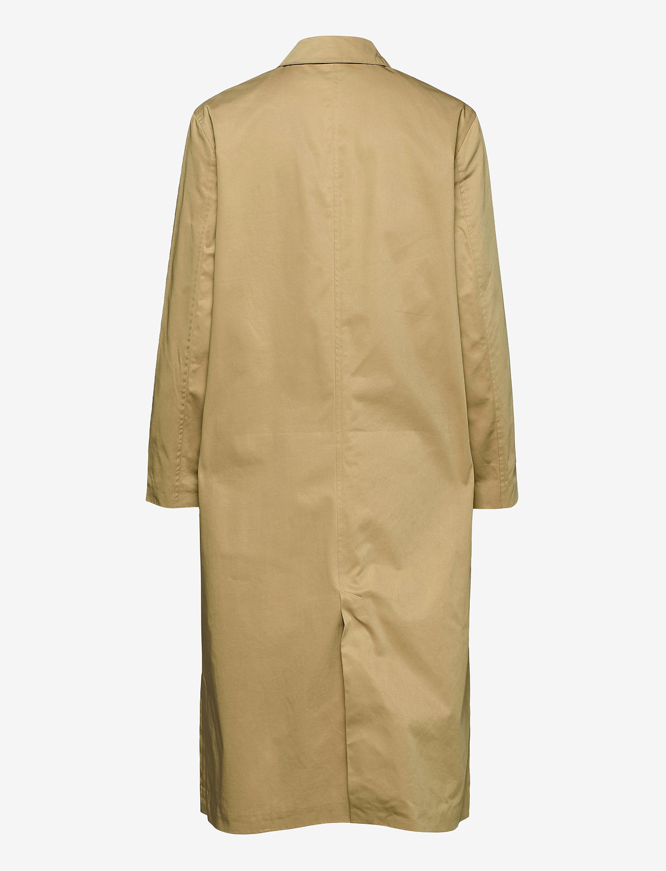 Samsøe Samsøe - Minoux coat 12681 - cienkie płaszcze - croissant - 1