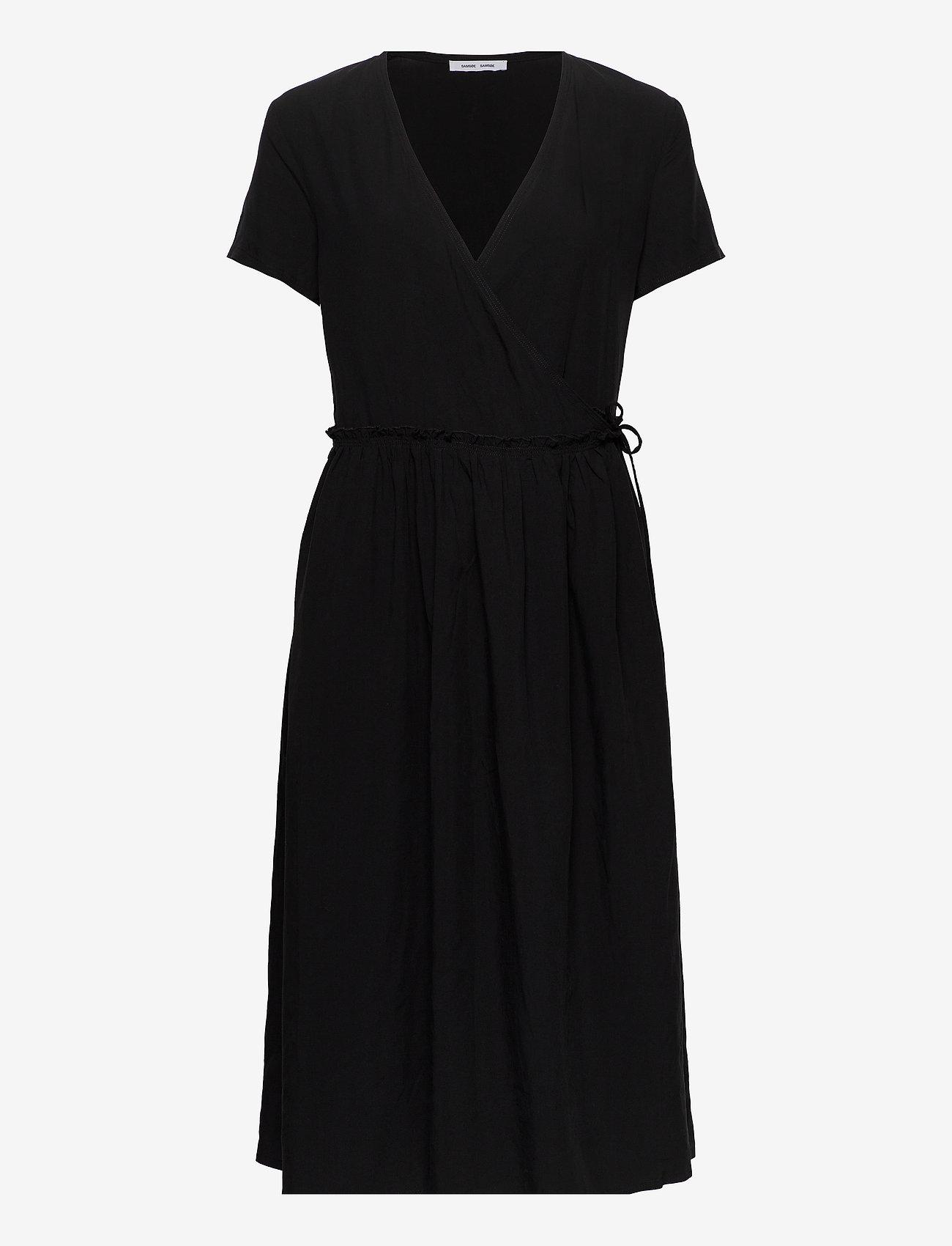 Samsøe Samsøe - Fiona dress 12686 - sommerkjoler - black - 0