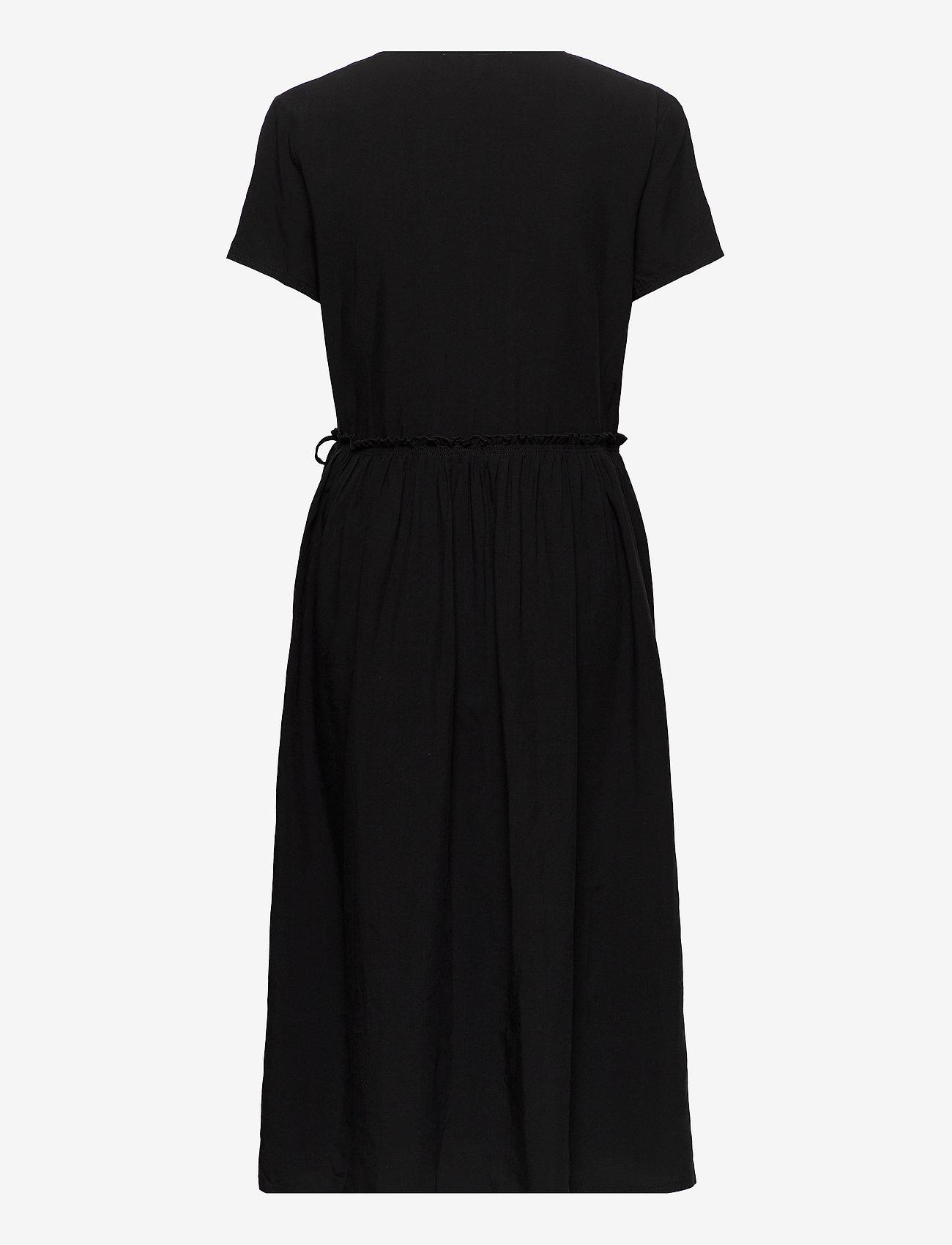 Samsøe Samsøe - Fiona dress 12686 - sommerkjoler - black - 1