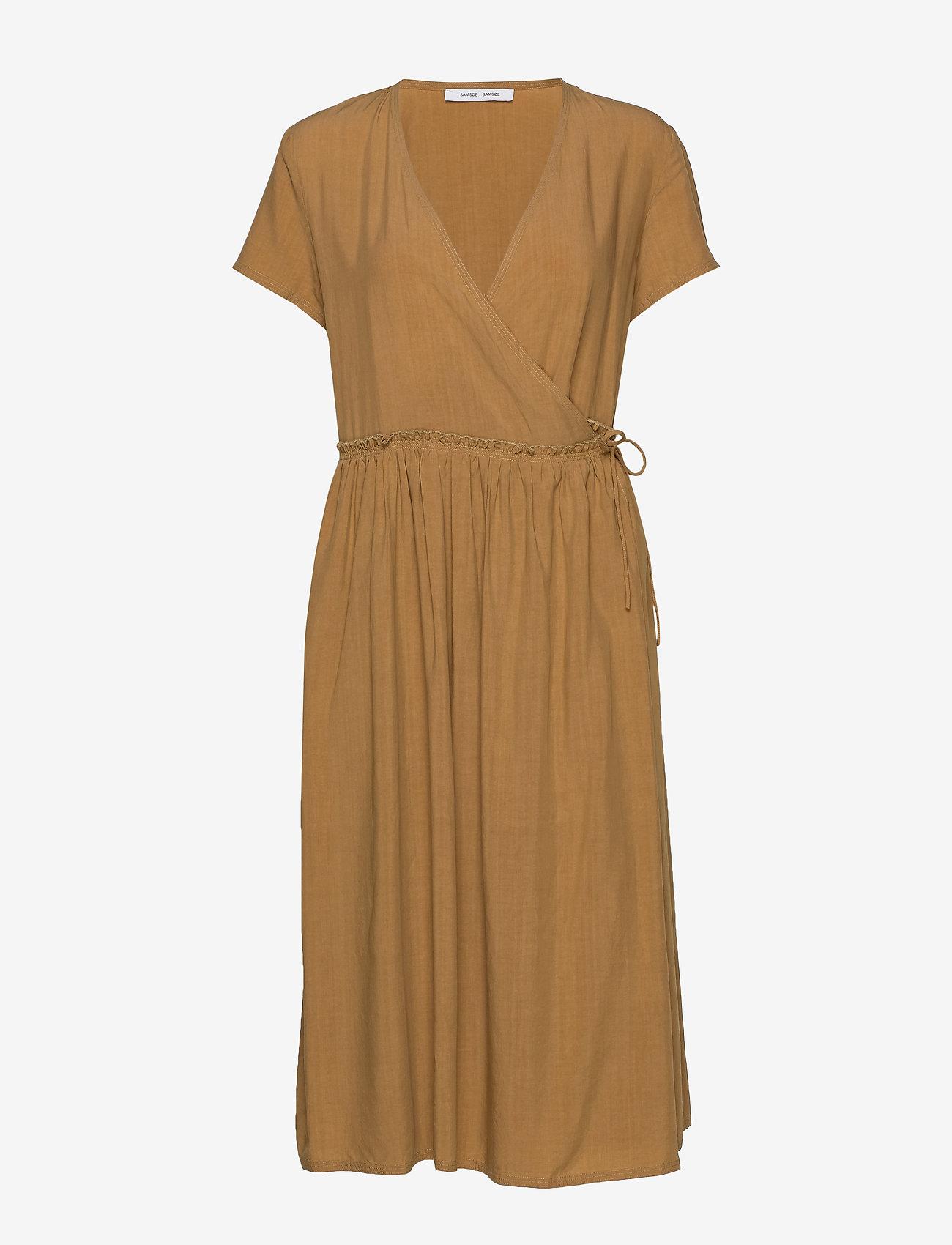 Samsøe Samsøe - Fiona dress 12686 - summer dresses - dijon - 0