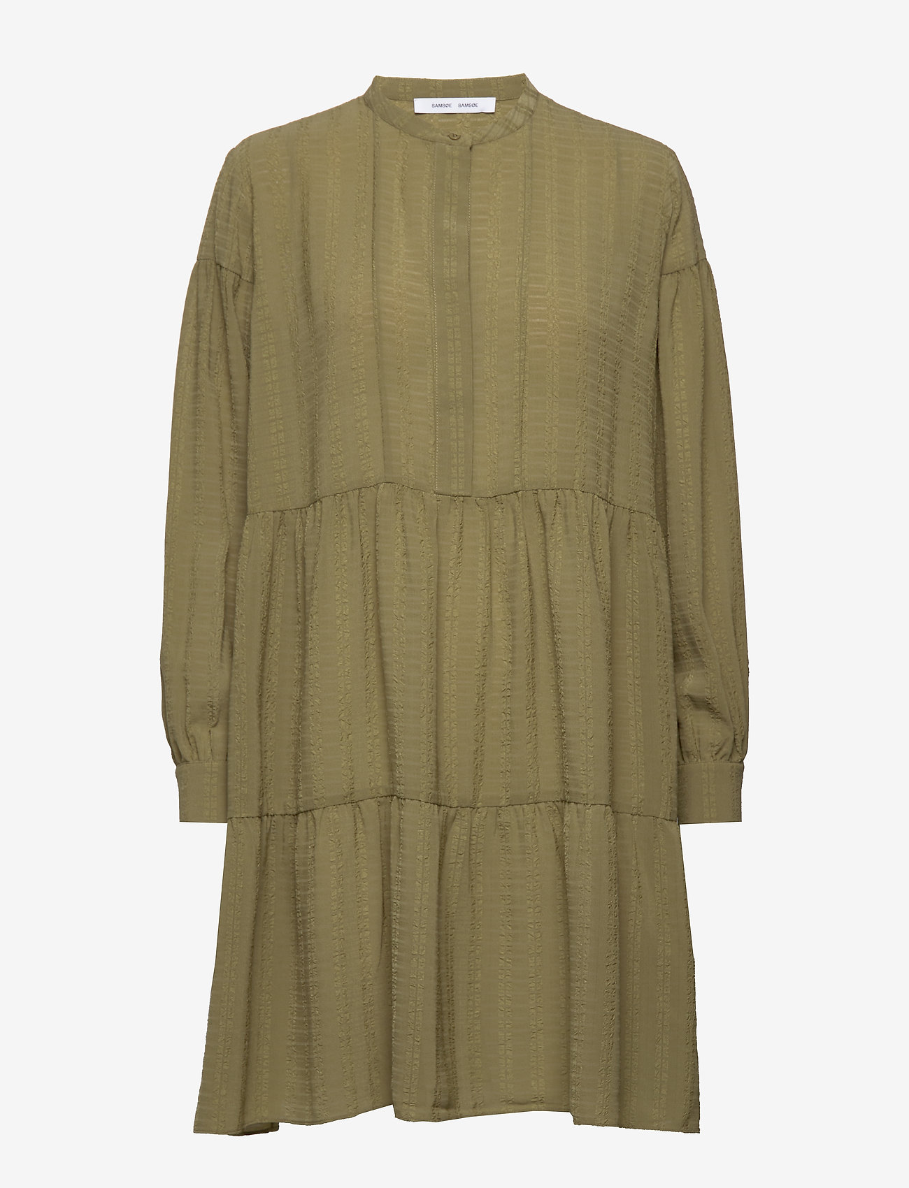Samsøe Samsøe - Margo shirt dress 12697 - korte kjoler - air khaki - 0