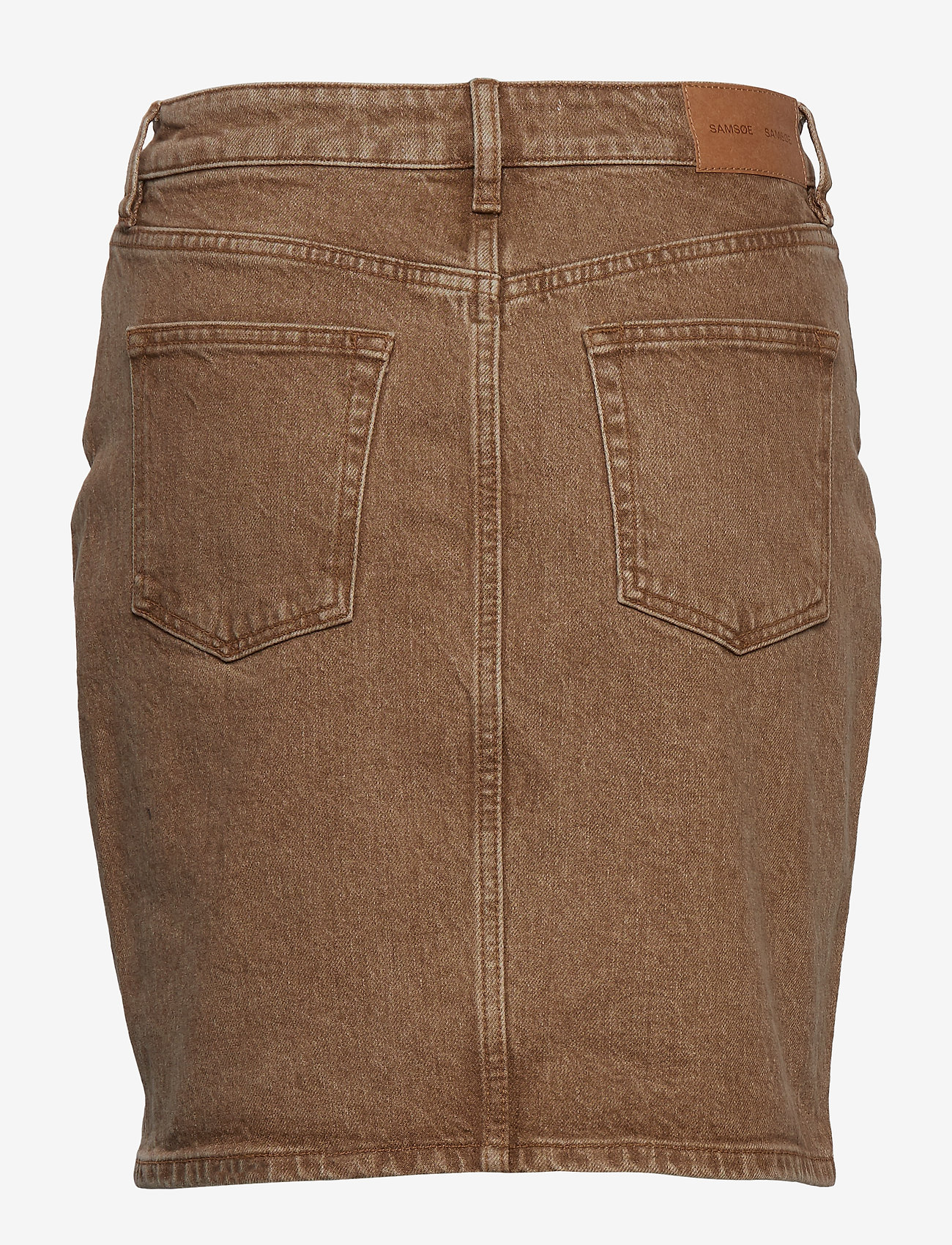 Samsøe Samsøe - Pamela skirt 12717 - jeansowe spódnice - wood - 1