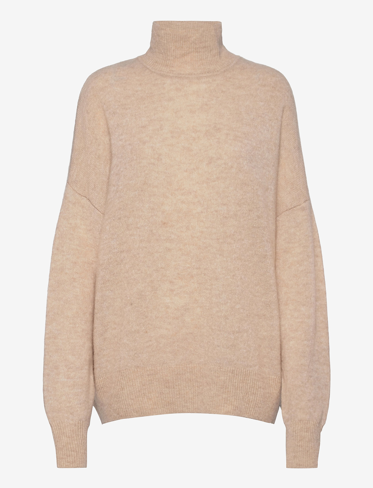 Samsøe Samsøe - Jaci turtleneck 12757 - polotröjor - winter wheat mel. - 0