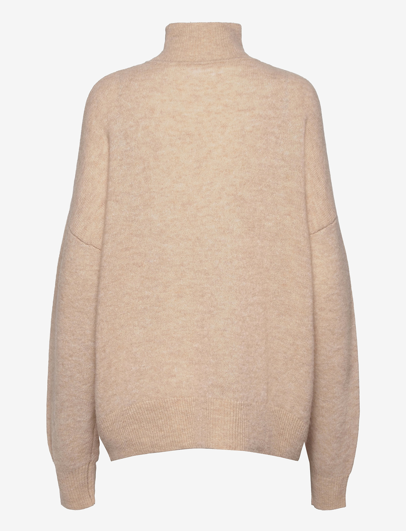 Samsøe Samsøe - Jaci turtleneck 12757 - polotröjor - winter wheat mel. - 1