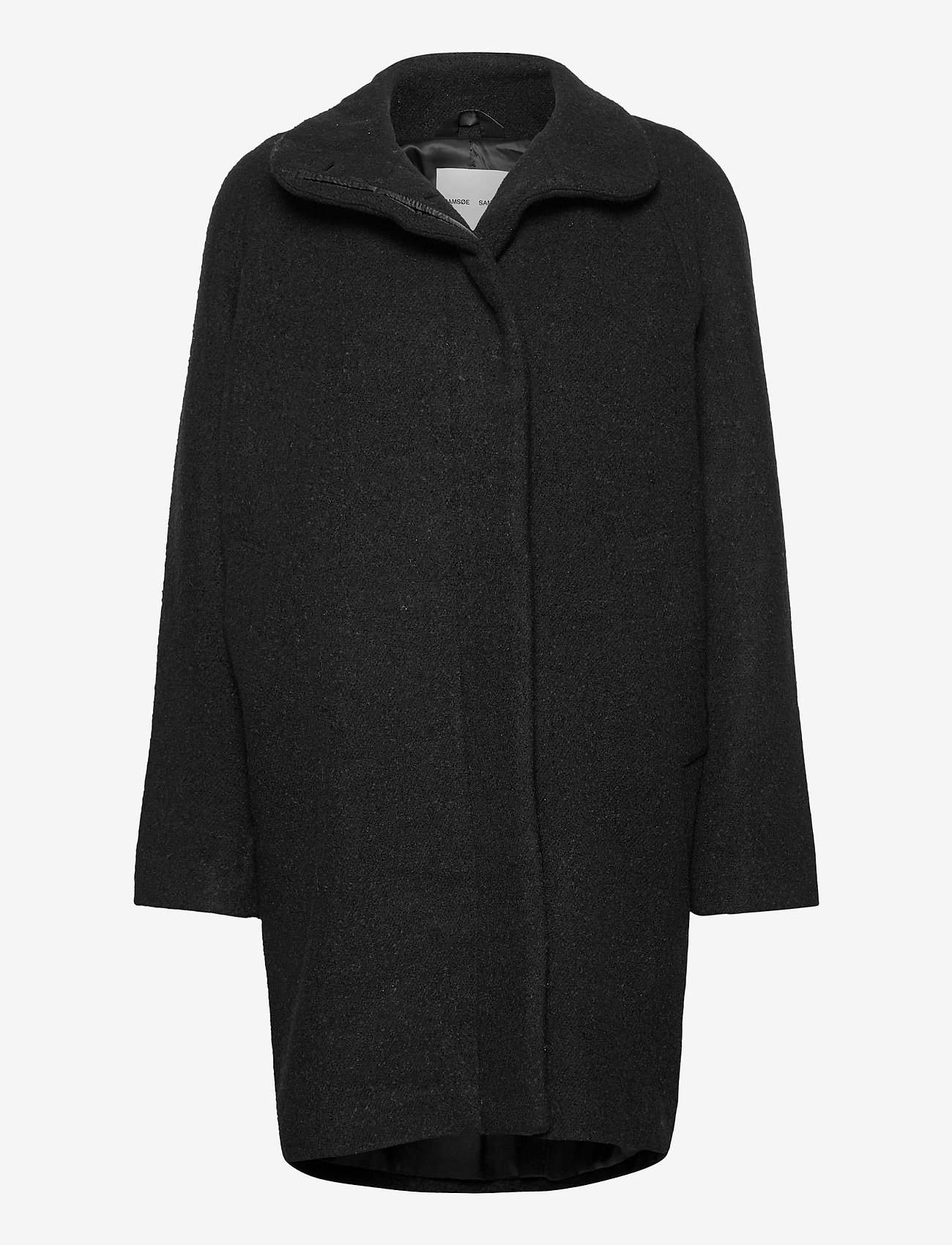 Samsøe Samsøe - Hoffa jacket 12840 - wollen jassen - black - 0