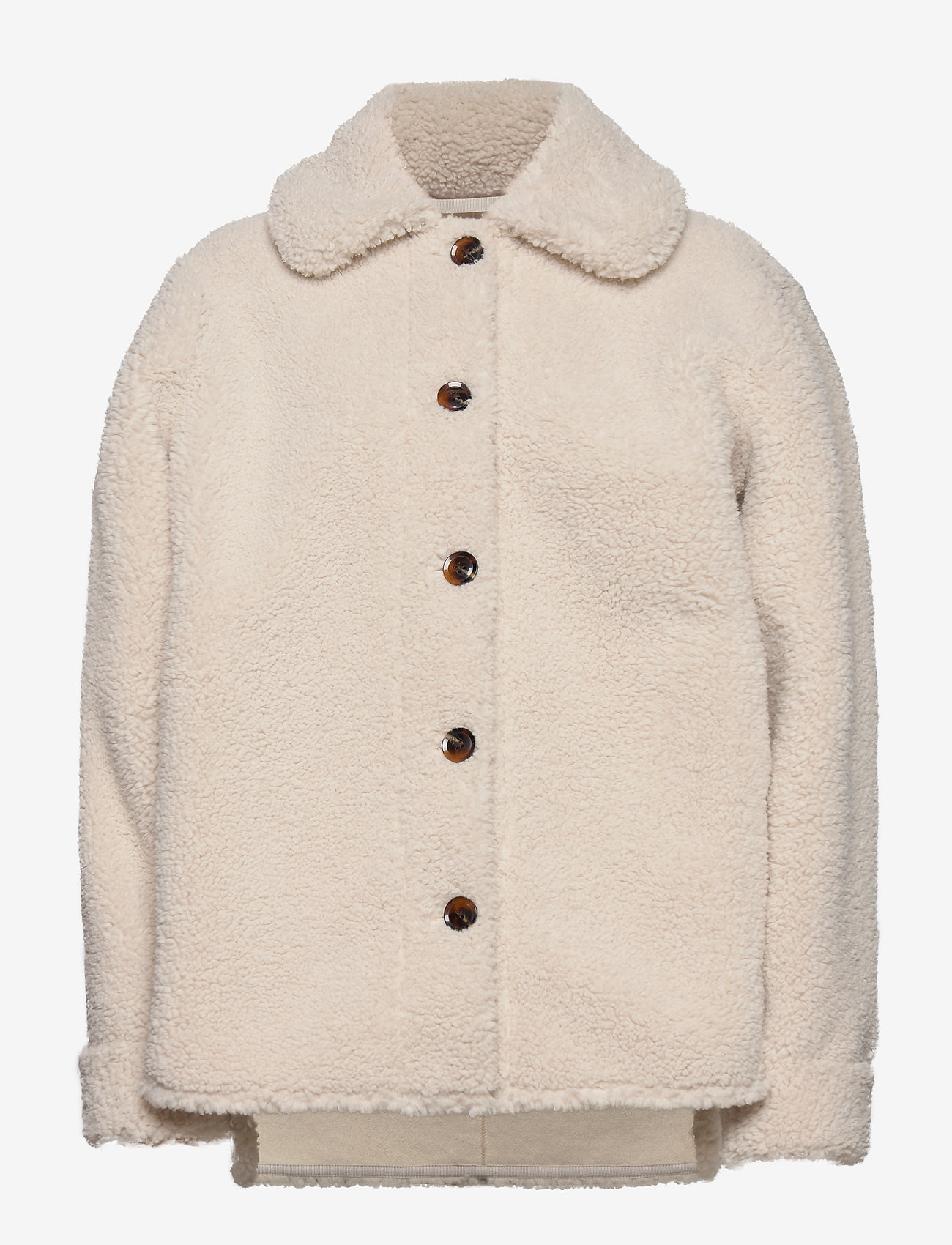 Samsøe Samsøe - Aylin jacket 12856 - wool jackets - whisper white - 1