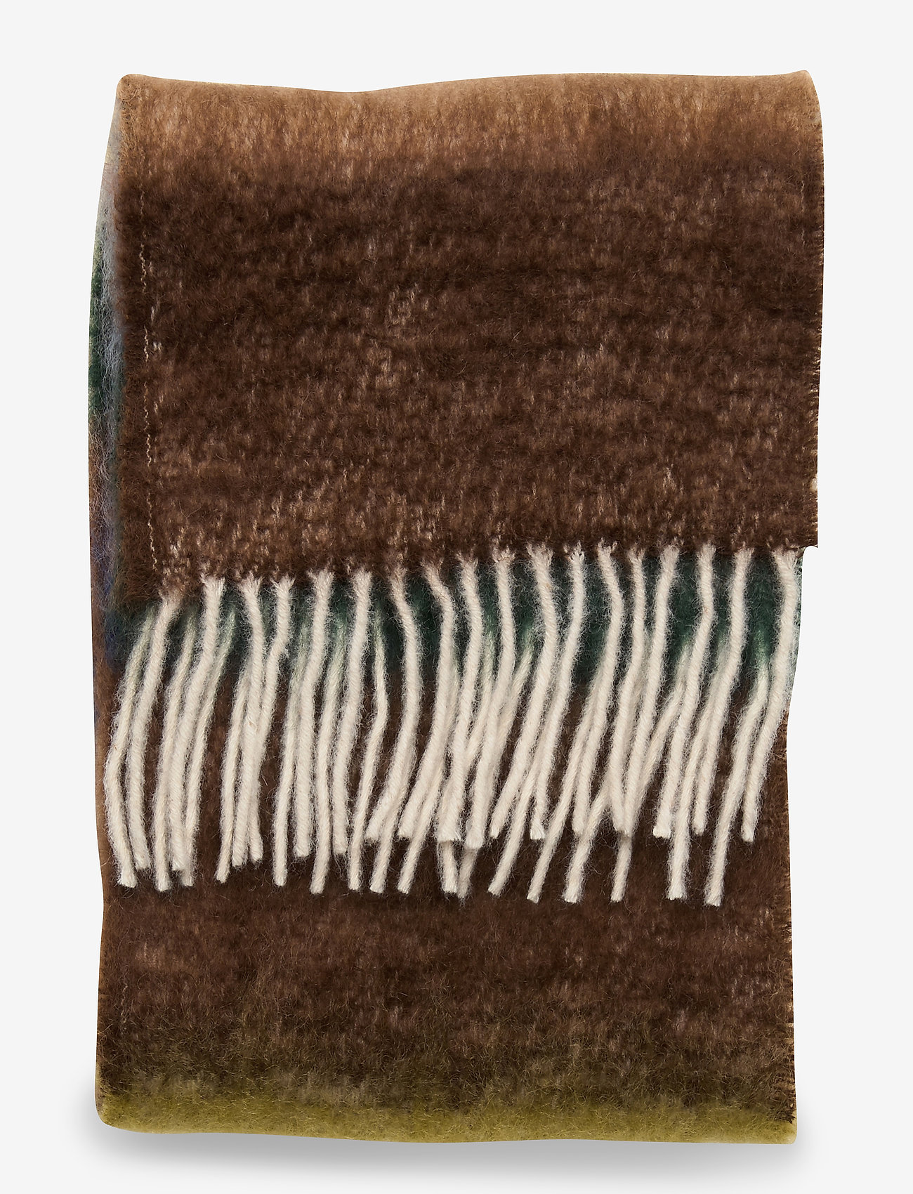 Samsøe Samsøe Adula scarf 12884 - Szaliki i chusty CINNAMON MULTI ST. - Akcesoria