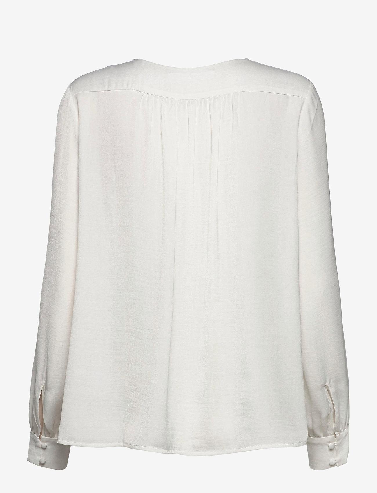 Samsøe Samsøe - Jetta shirt 12770 - långärmade blusar - whisper white - 1