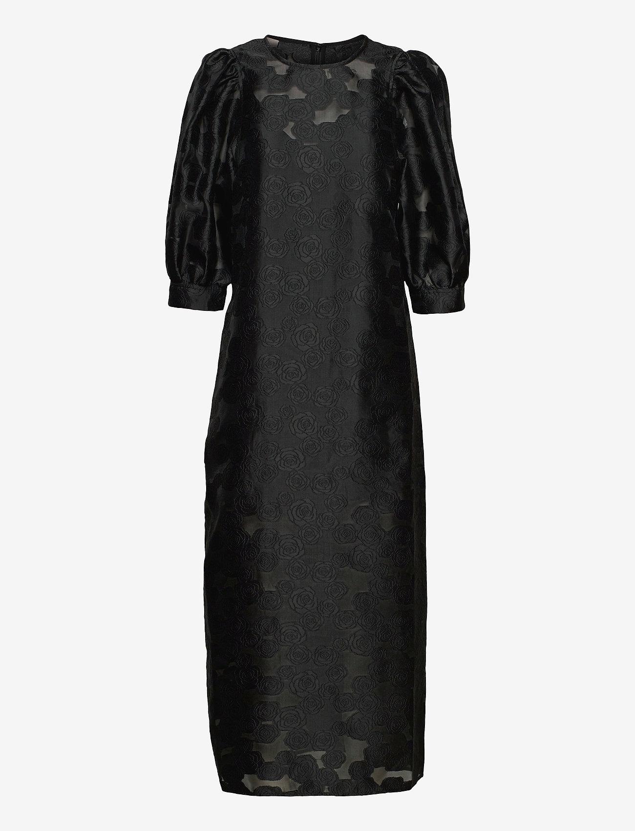 Samsøe Samsøe - Celestina long dress 12939 - kveldskjoler - black - 0