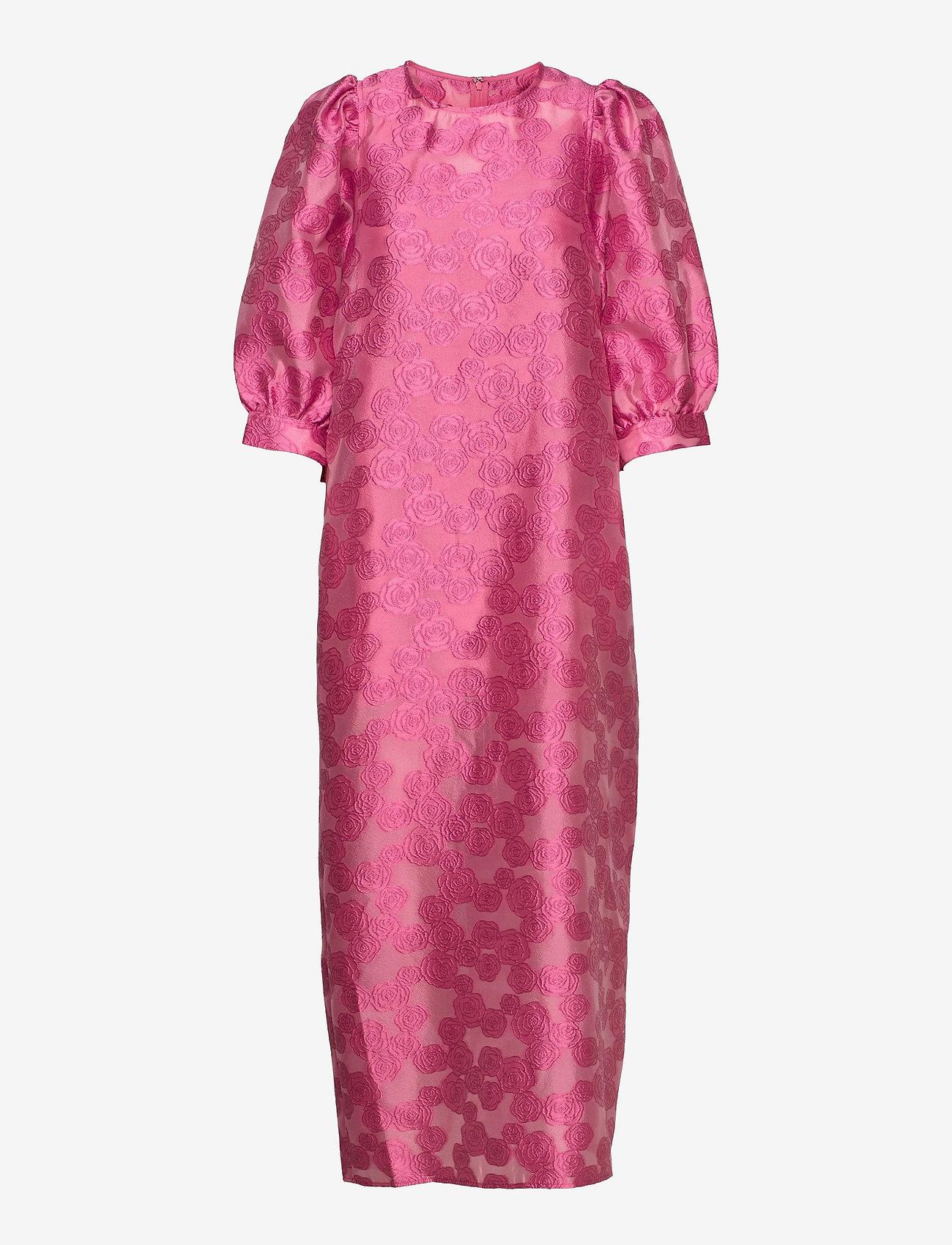 Samsøe Samsøe - Celestina long dress 12939 - kveldskjoler - bubble gum pink - 1