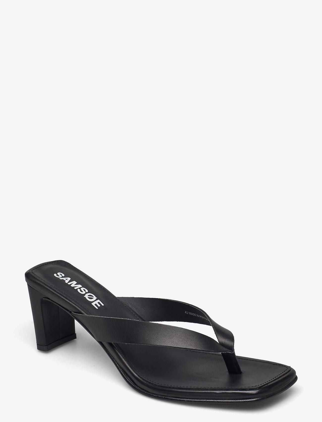 Samsøe Samsøe - Brial sandal 11399 - høyhælte sandaler - black - 0