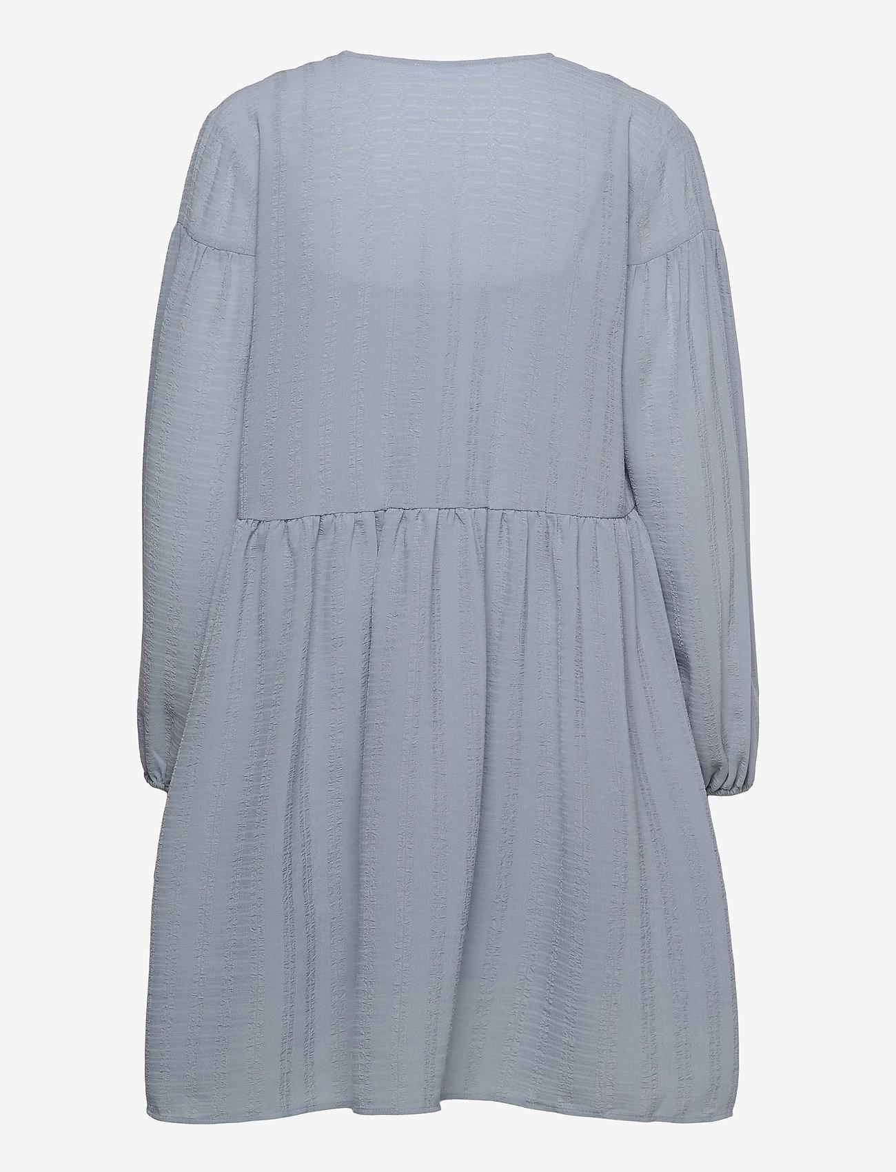 Samsøe Samsøe - Jolie short dress 12697 - summer dresses - dusty blue - 2