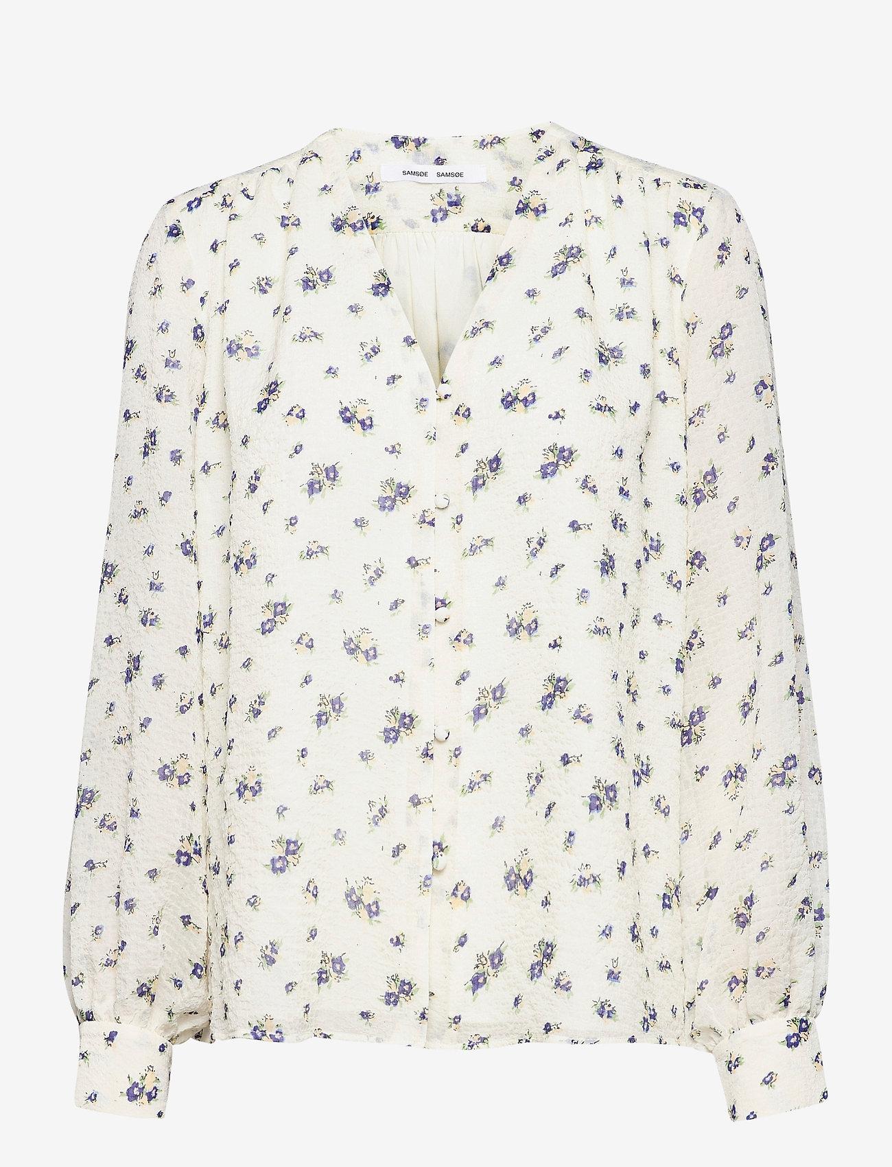 Samsøe Samsøe - Jetta shirt aop 12888 - langærmede bluser - sun bouquet - 1