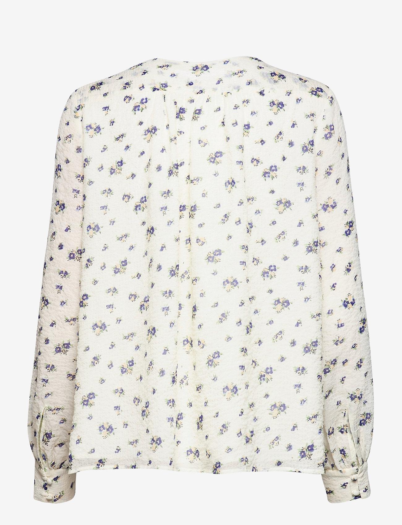 Samsøe Samsøe - Jetta shirt aop 12888 - langærmede bluser - sun bouquet - 2