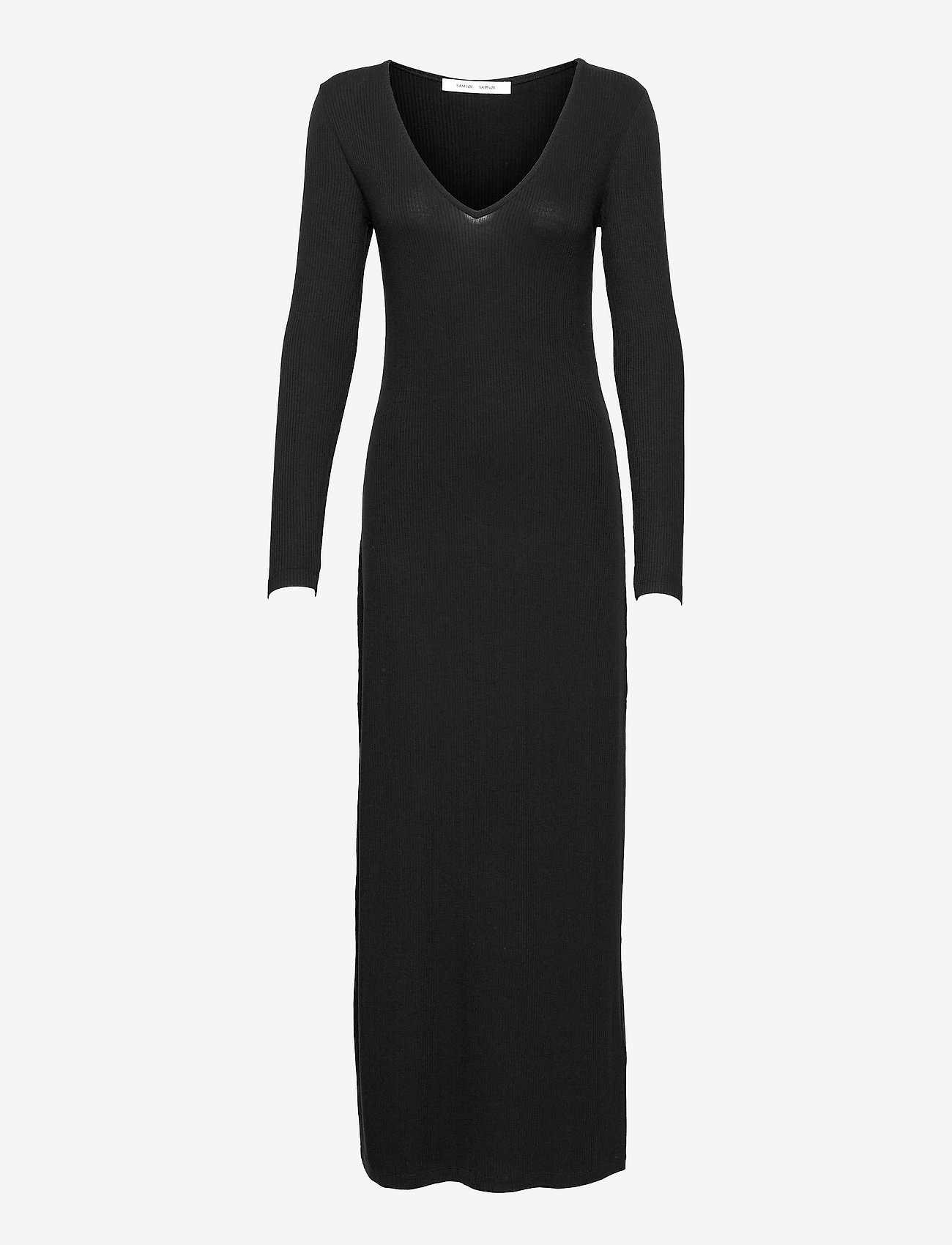 Samsøe Samsøe - Patty long dress 14119 - kveldskjoler - black - 0