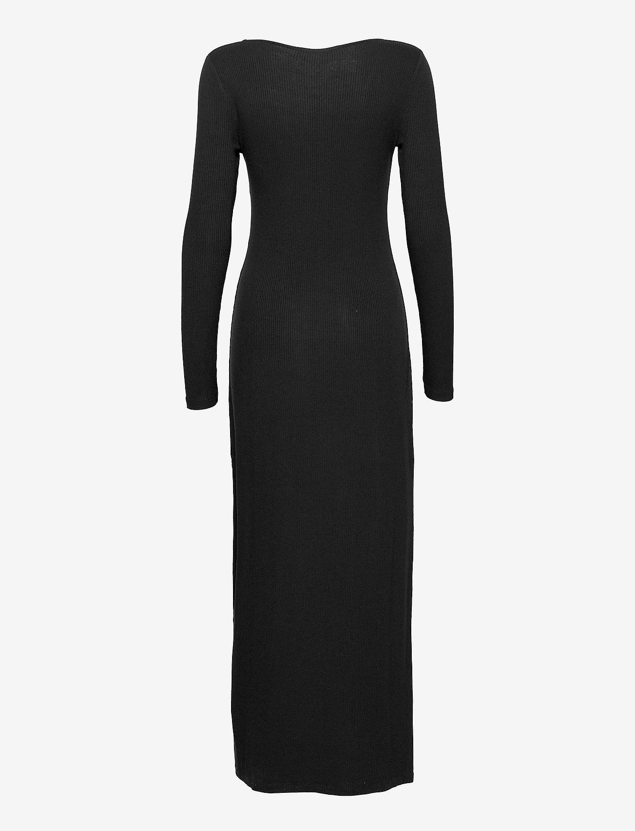 Samsøe Samsøe - Patty long dress 14119 - kveldskjoler - black - 1