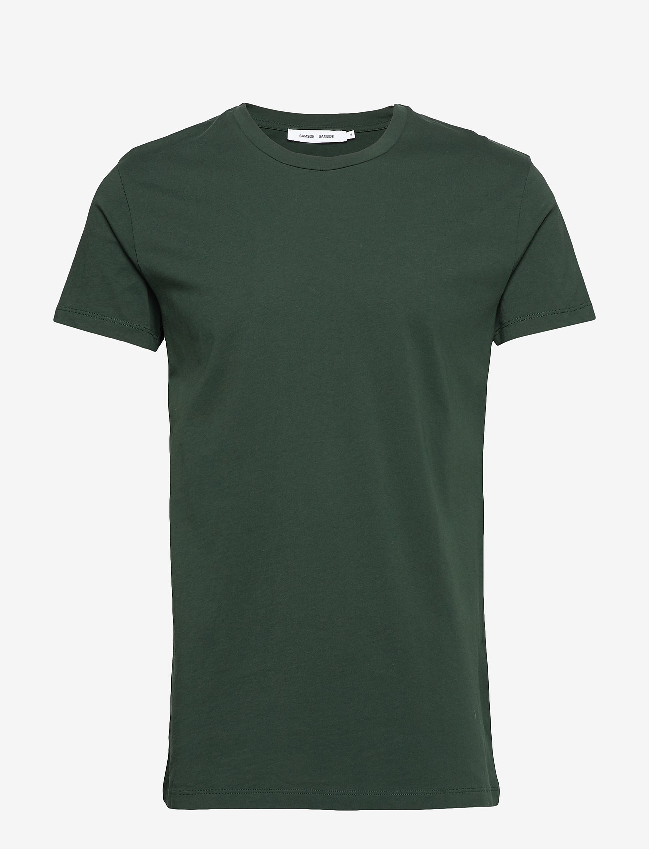 Samsøe Samsøe - Kronos o-n ss 273 - basis-t-skjorter - darkest spruce - 0
