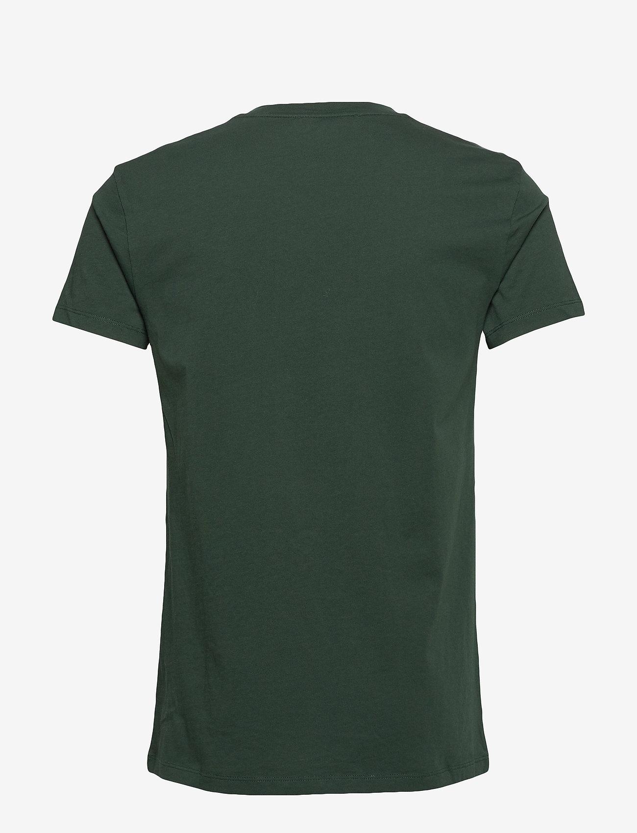 Samsøe Samsøe - Kronos o-n ss 273 - basis-t-skjorter - darkest spruce - 1