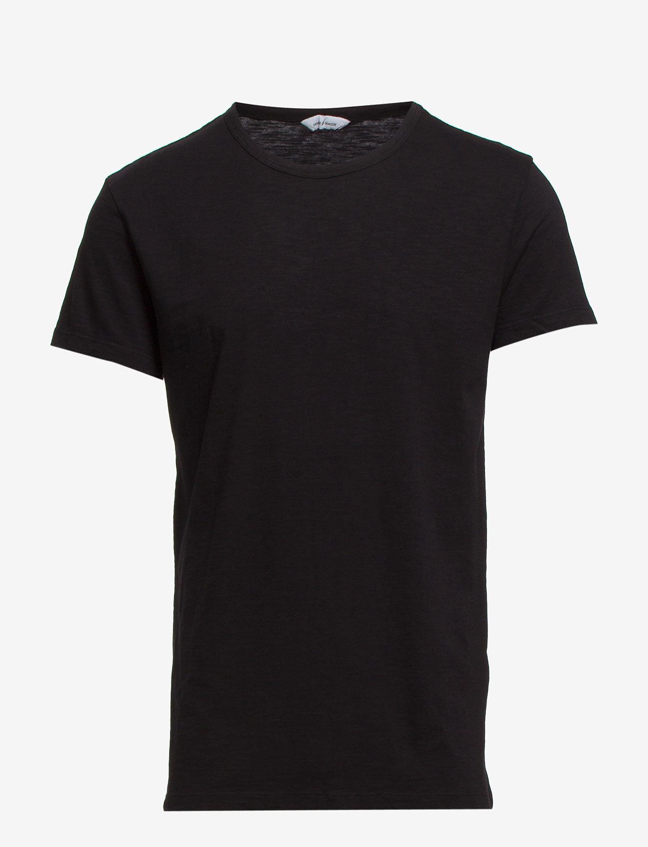 Samsøe Samsøe - Lassen o-n ss 2586 - kortærmede t-shirts - black - 0