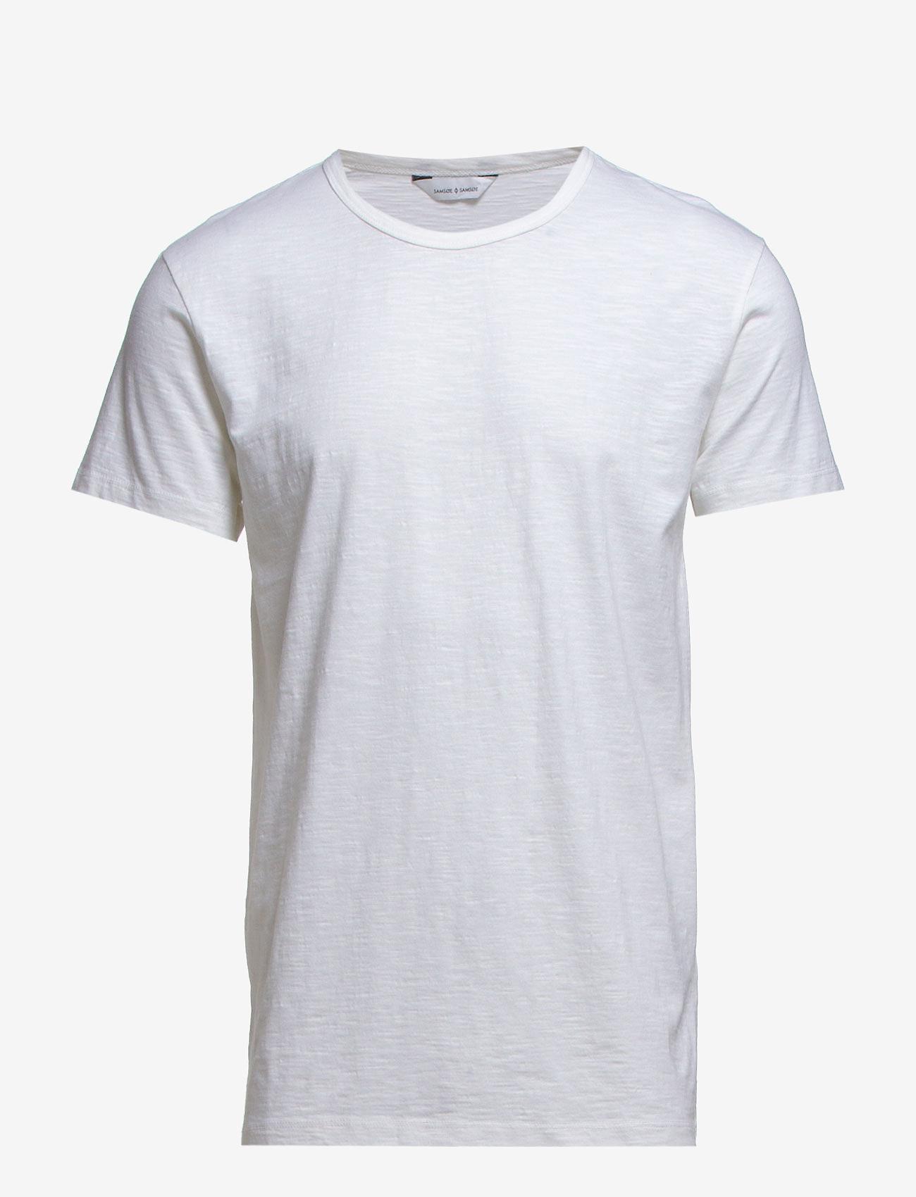 Samsøe Samsøe - Lassen o-n ss 2586 - basic t-shirts - white - 0