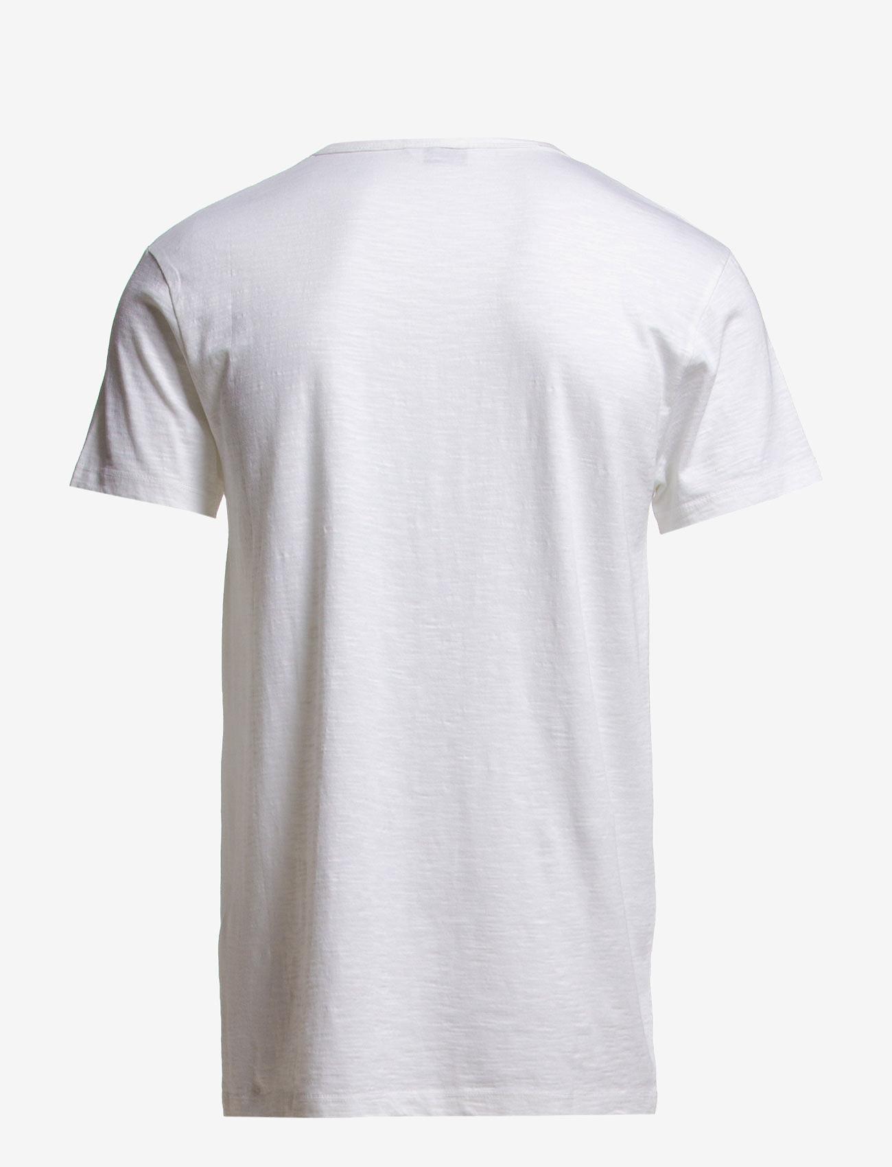 Samsøe Samsøe - Lassen o-n ss 2586 - basic t-shirts - white - 1