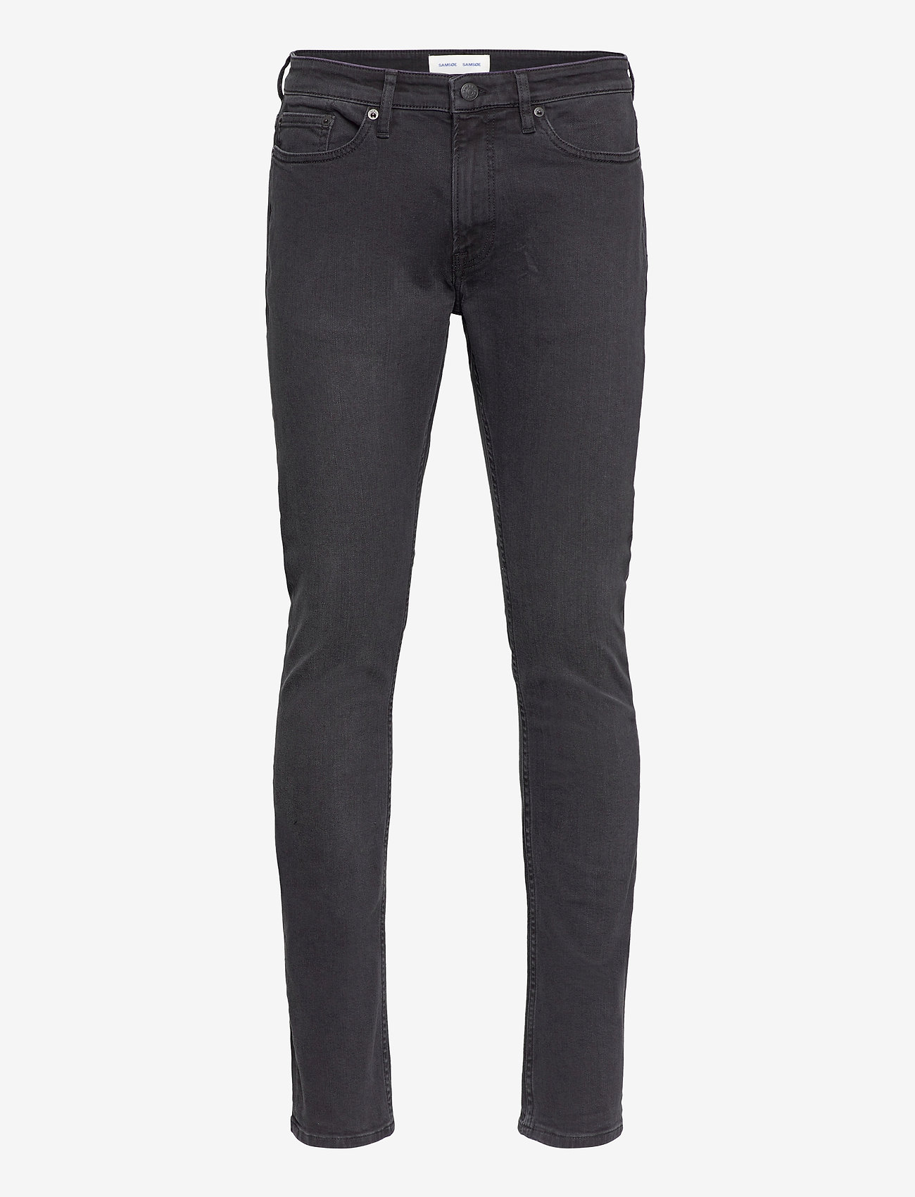 Samsøe Samsøe - Stefan jean 5891 - džinsa bikses ar tievām starām - worn black - 0